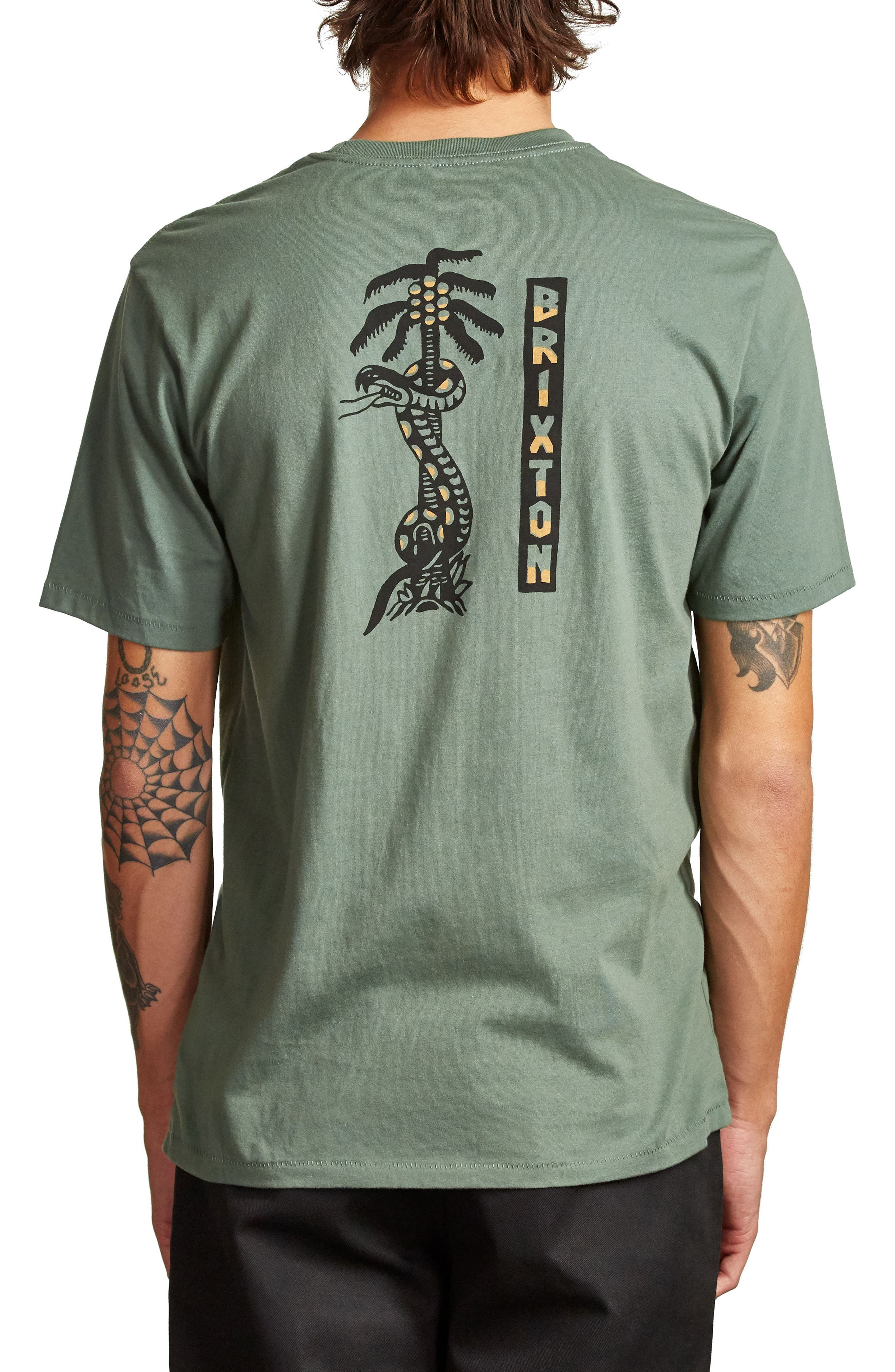 Escalada T-Shirt,                             Alternate thumbnail 2, color,                             WASHED CHIVE