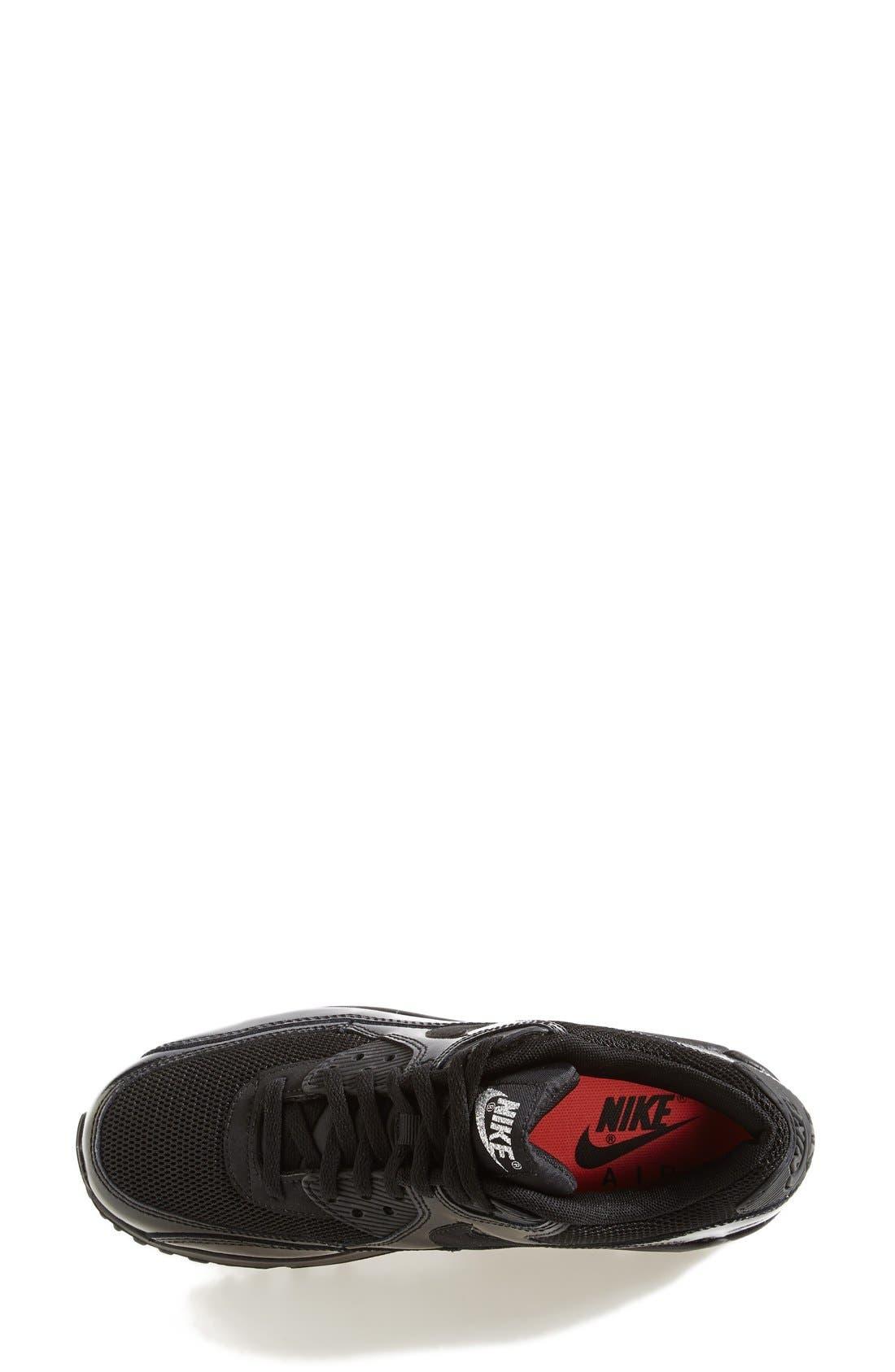 'Air Max 90 - Premium' Sneaker,                             Alternate thumbnail 4, color,                             002