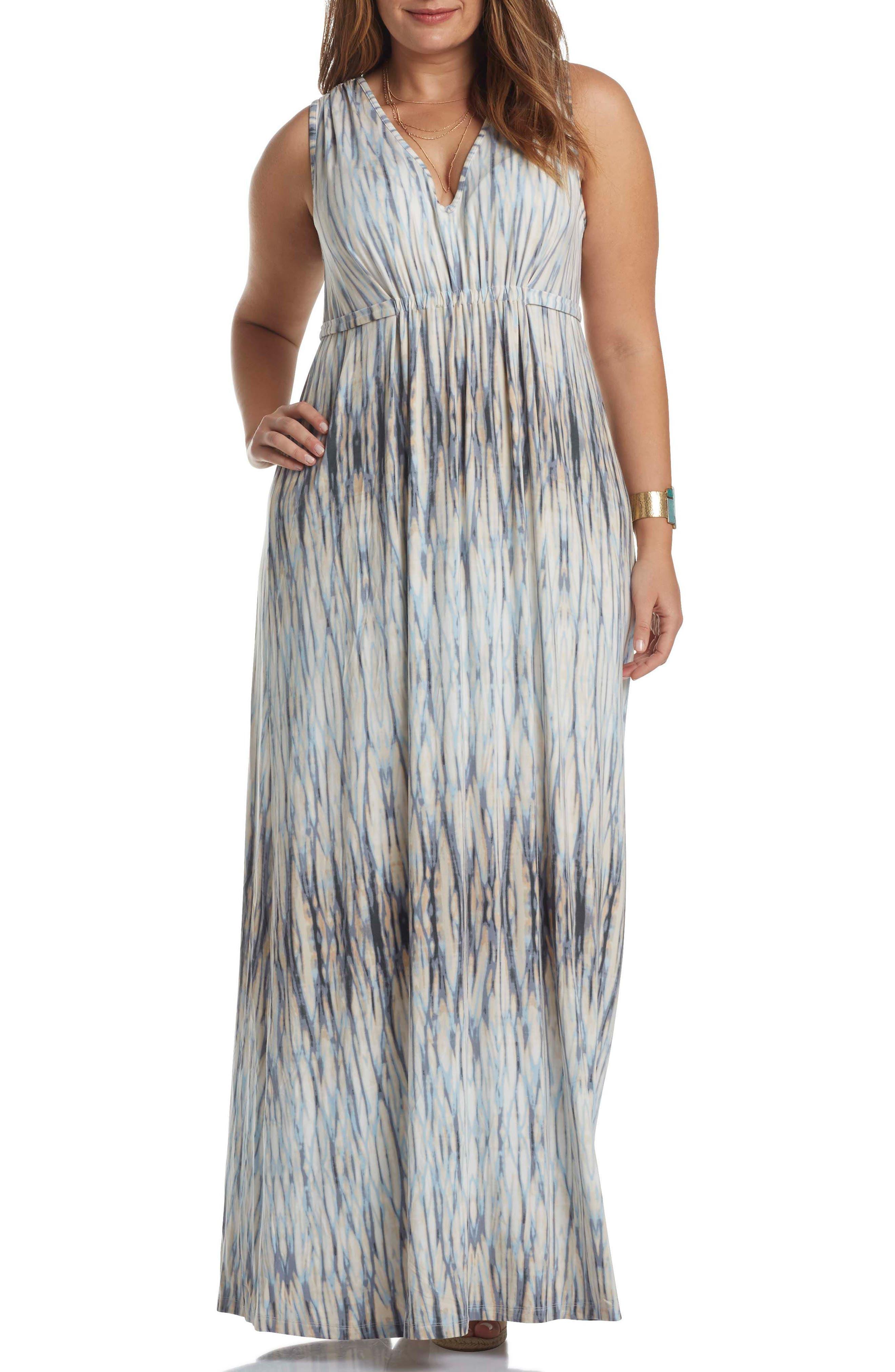 Grecia Sleeveless Jersey Maxi Dress,                             Main thumbnail 6, color,