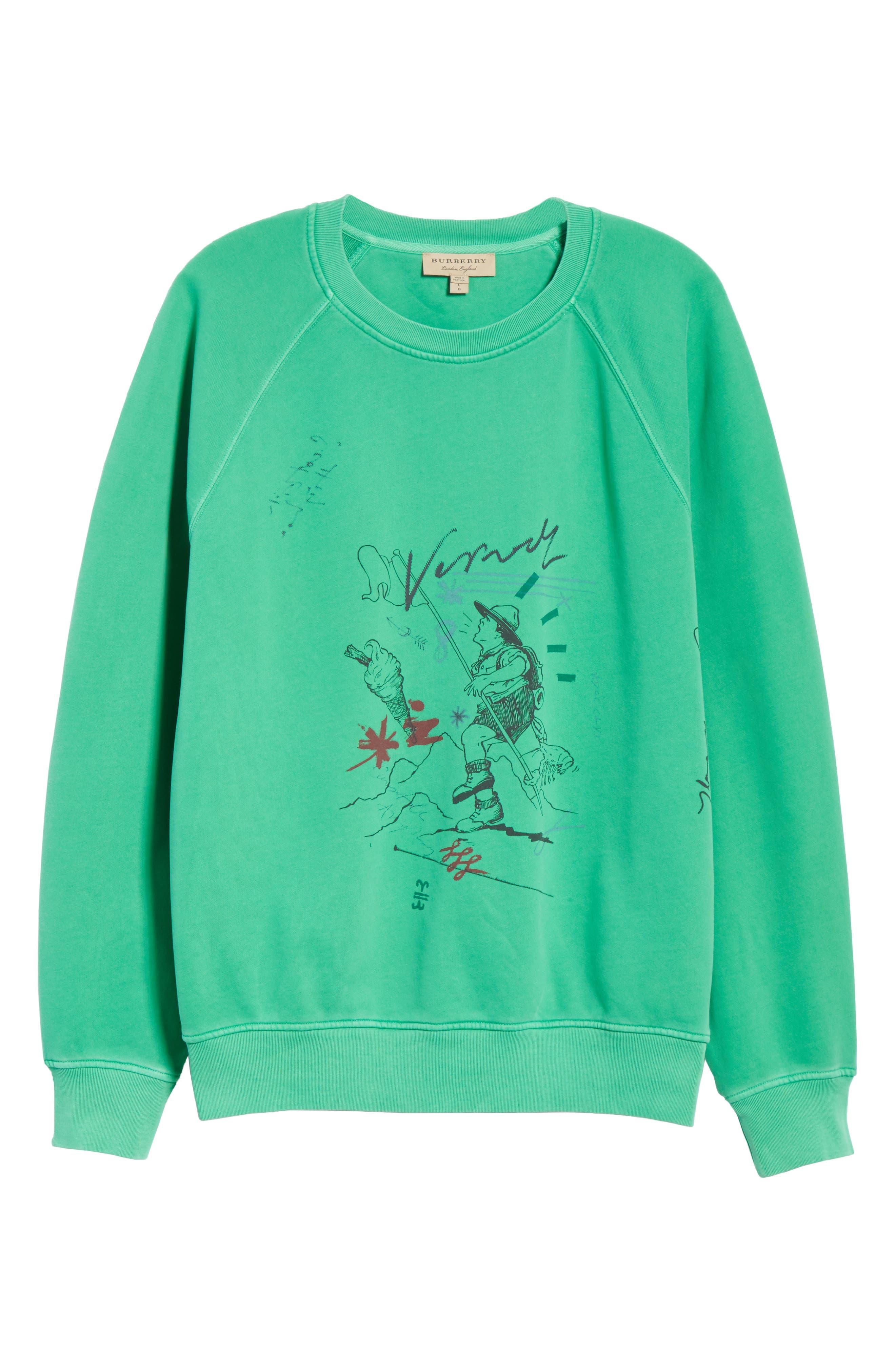 Harnett Graphic Sweatshirt,                             Alternate thumbnail 6, color,                             329