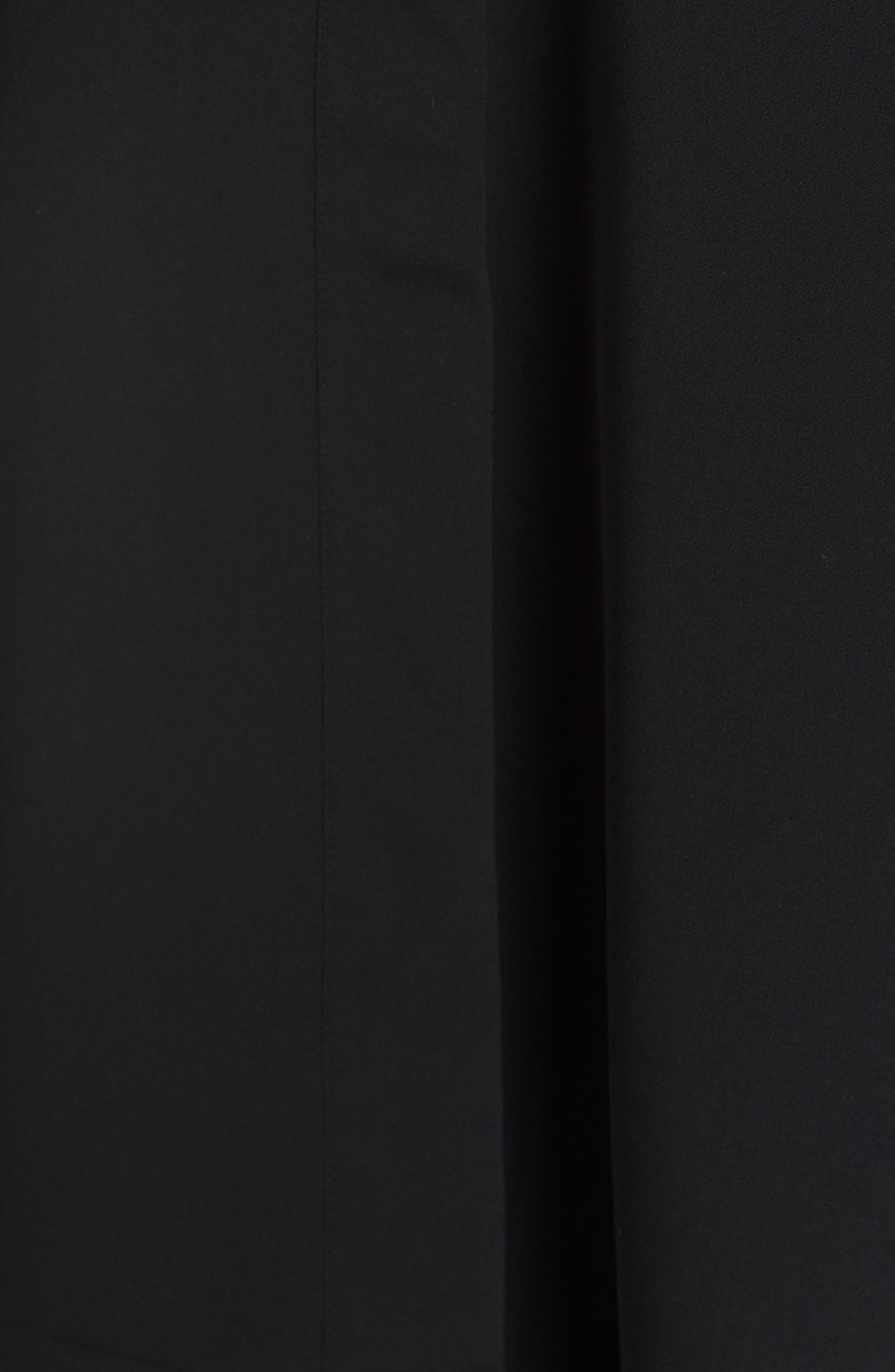 Duster Vest,                             Alternate thumbnail 6, color,                             BLACK