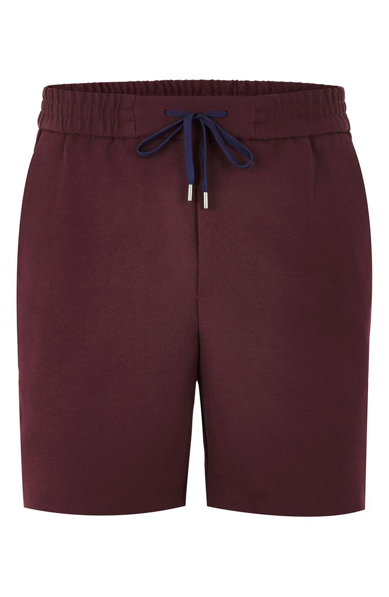 Satin Stripe Shorts,                             Alternate thumbnail 4, color,                             500