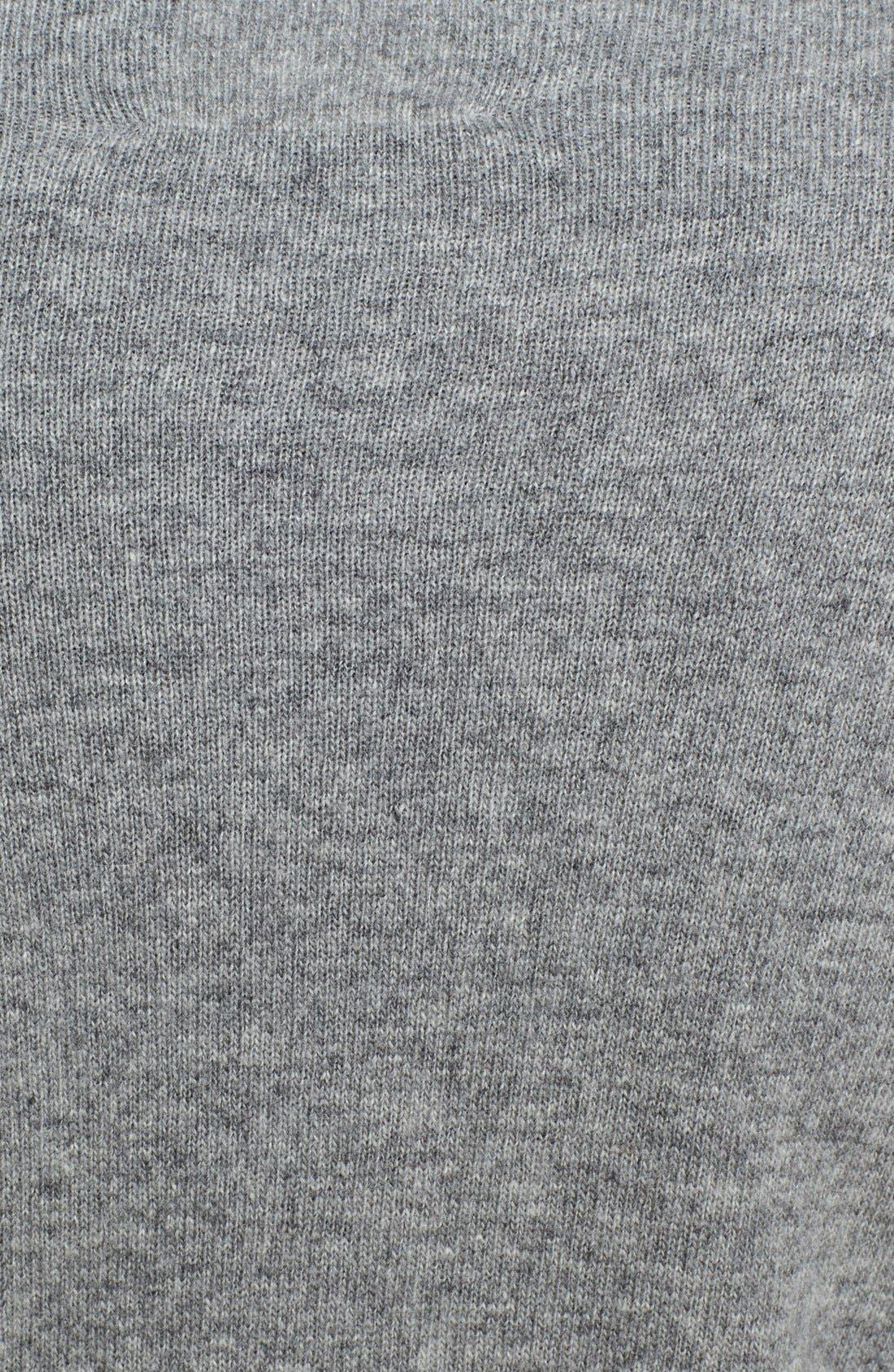 Eyelash Felted Wool Sweater,                             Alternate thumbnail 4, color,                             066