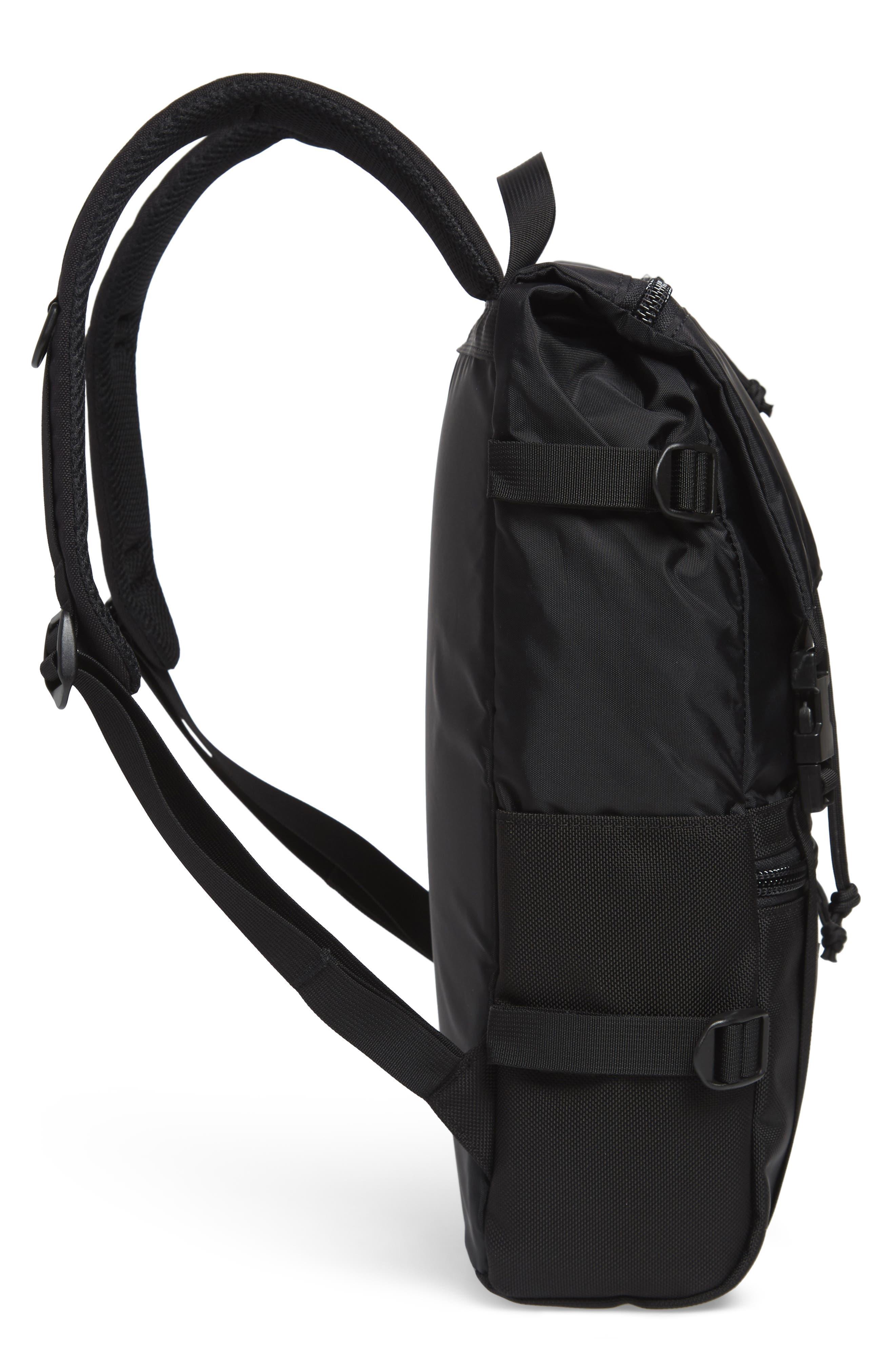 'Rover' Backpack,                             Alternate thumbnail 3, color,                             BALLISTIC BLACK
