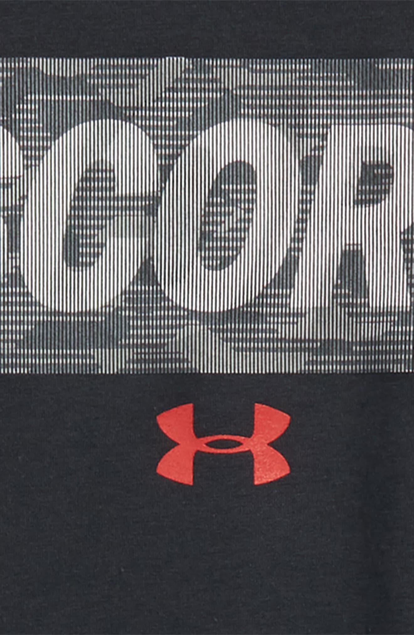 Lenticular Score Graphic HeatGear<sup>®</sup> T-Shirt,                             Alternate thumbnail 3, color,