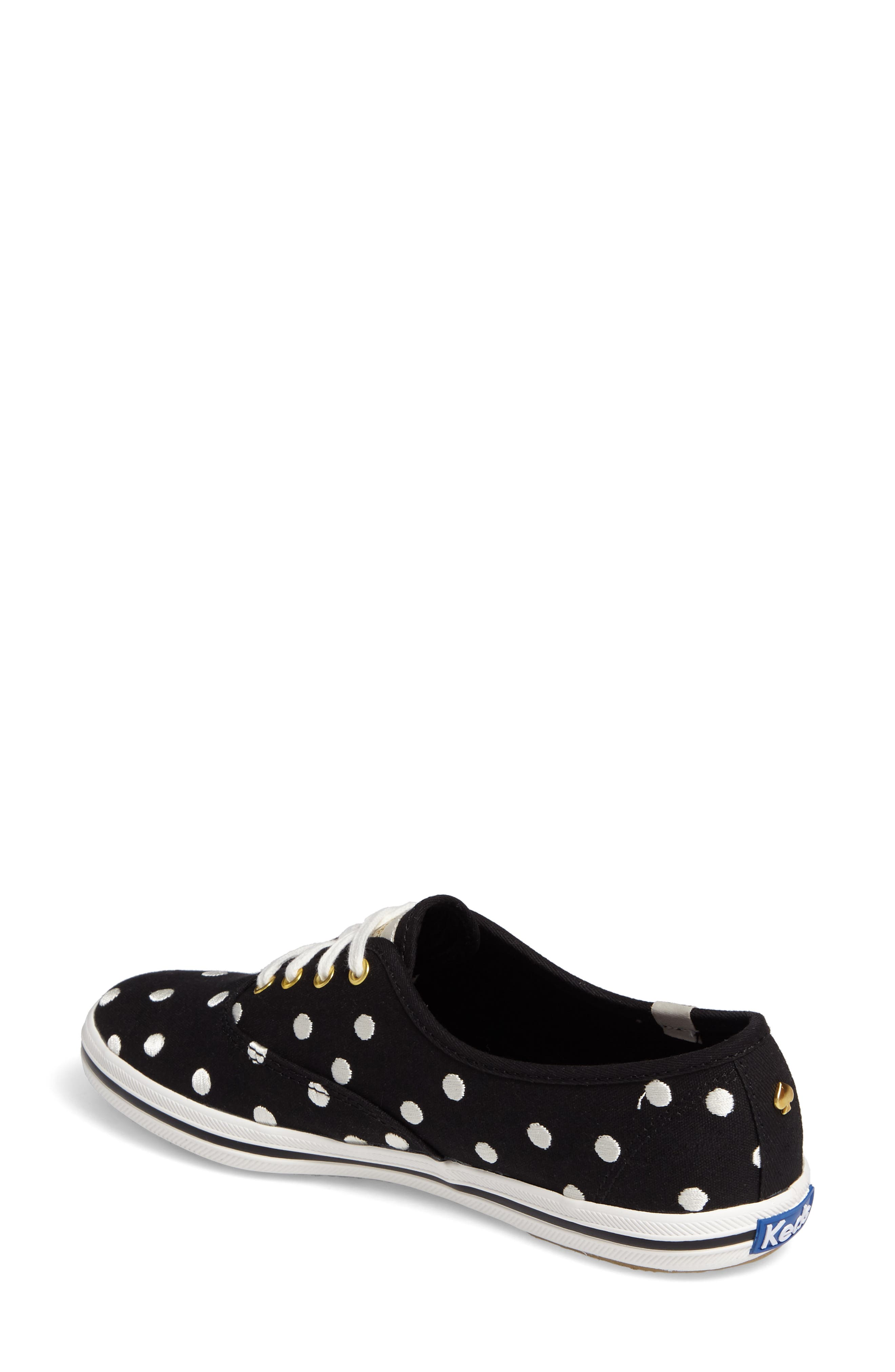 Keds<sup>®</sup> x kate spade new york champion sneaker,                             Alternate thumbnail 5, color,