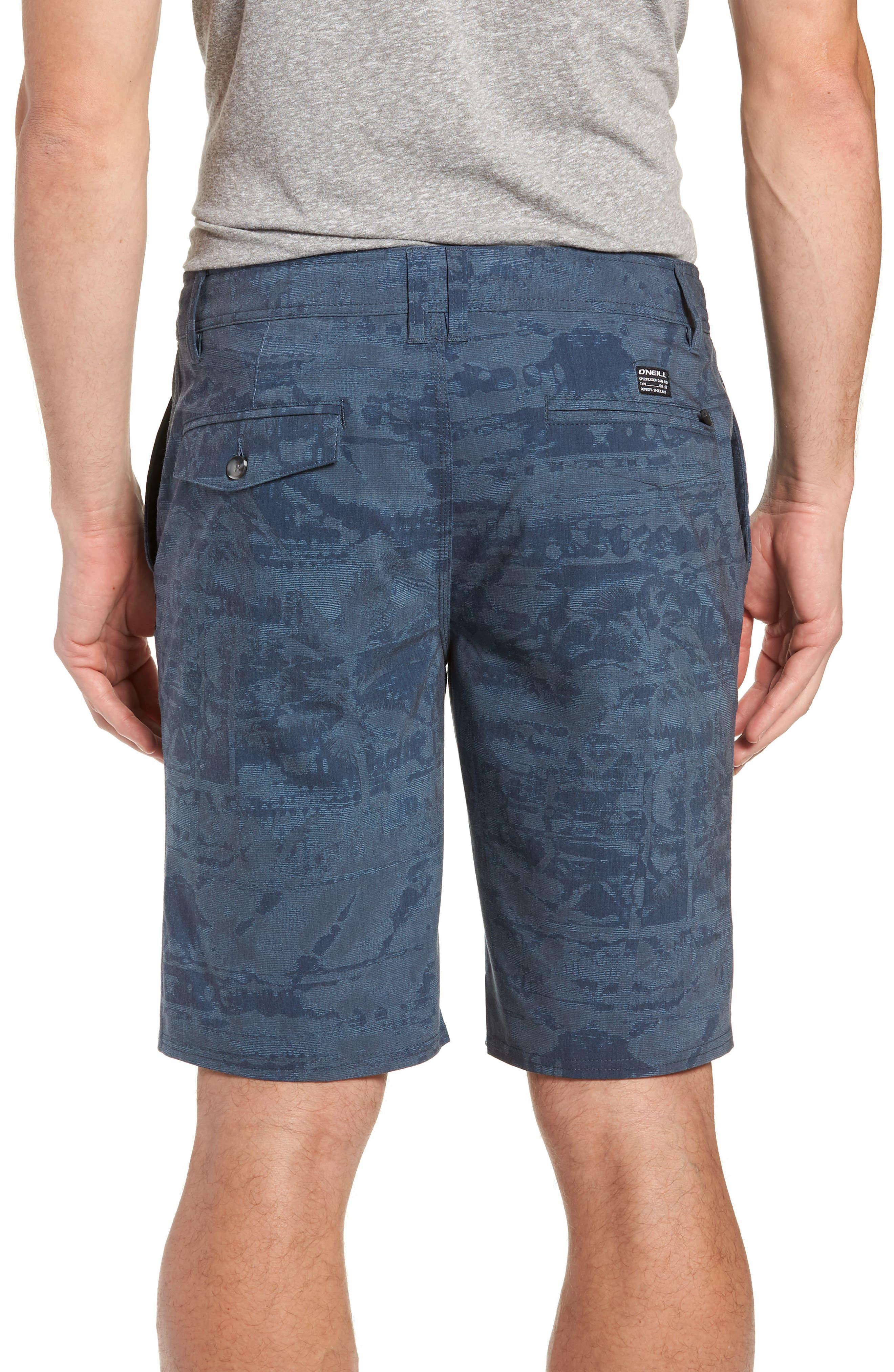 Mixed Hybrid Shorts,                             Alternate thumbnail 2, color,                             NAVY
