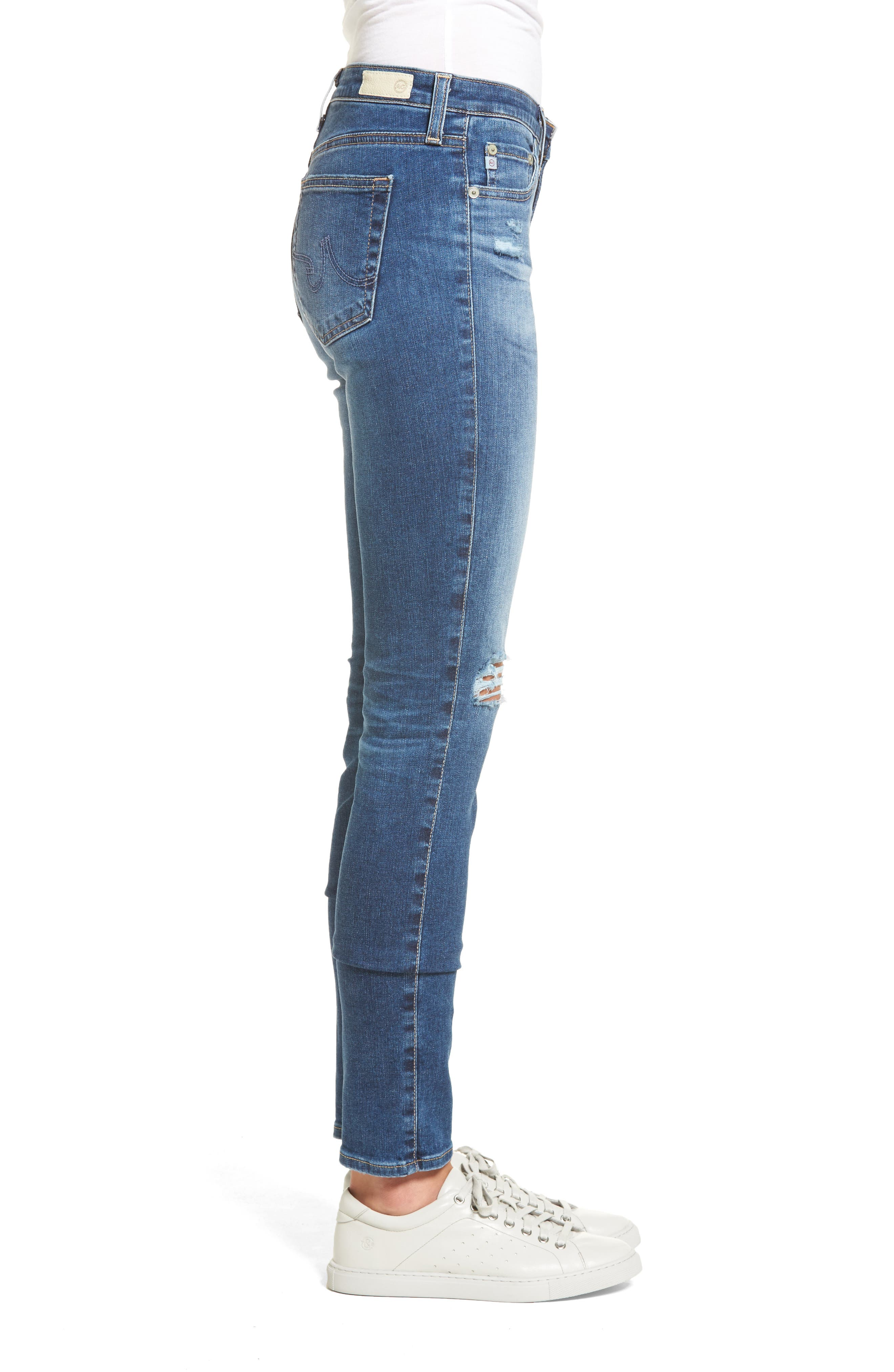 'Prima' Skinny Jeans,                             Alternate thumbnail 16, color,