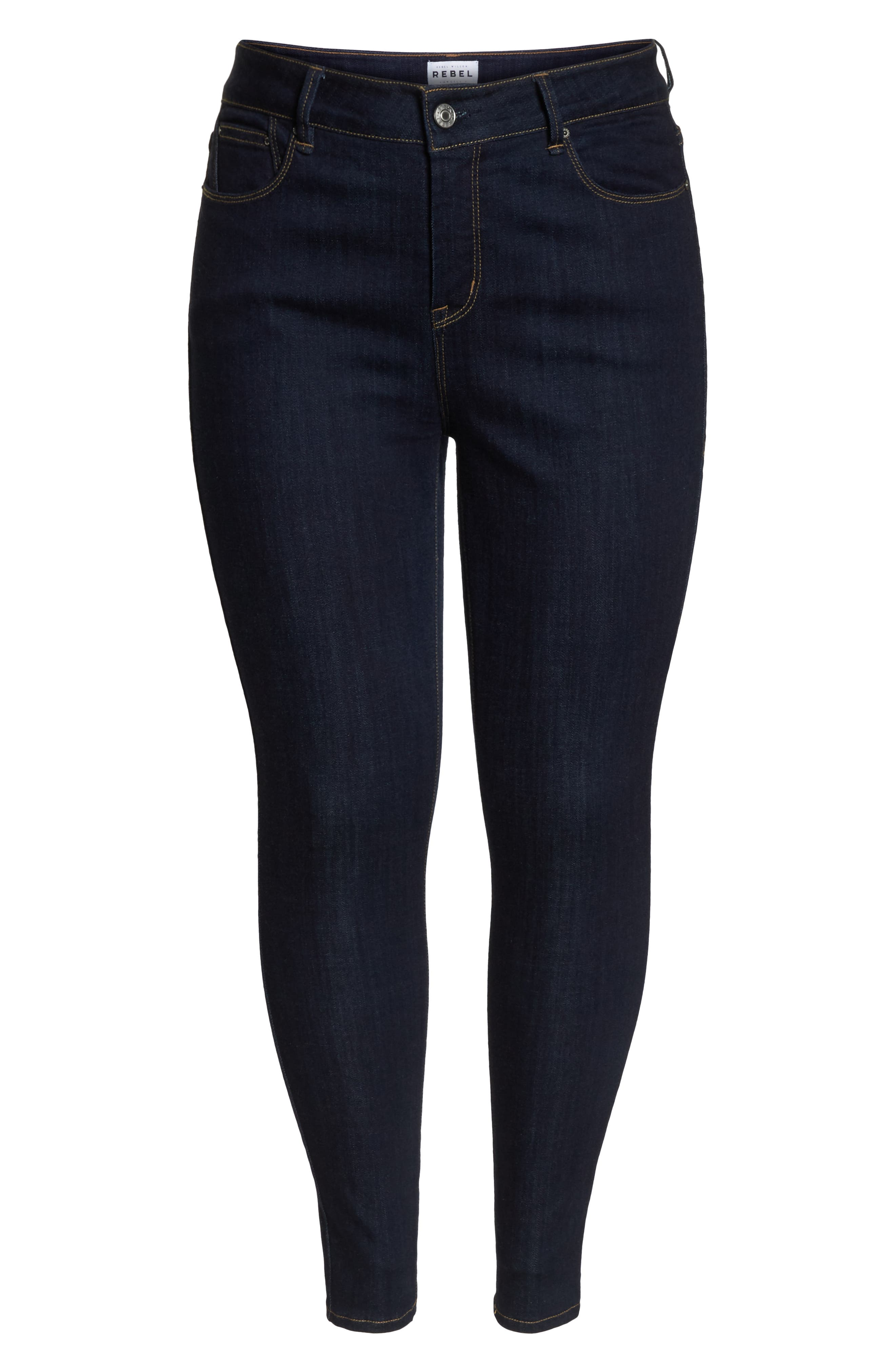 The Pin Up Super Skinny Jeans,                             Alternate thumbnail 22, color,