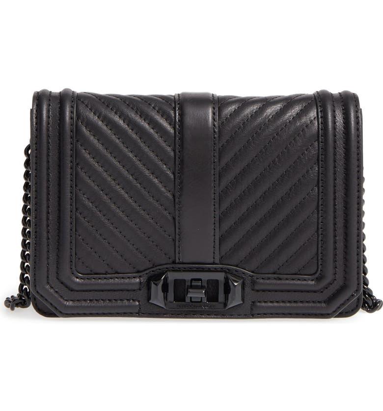 Rebecca Minkoff Small Love Leather Crossbody Bag  133bccfebefe2