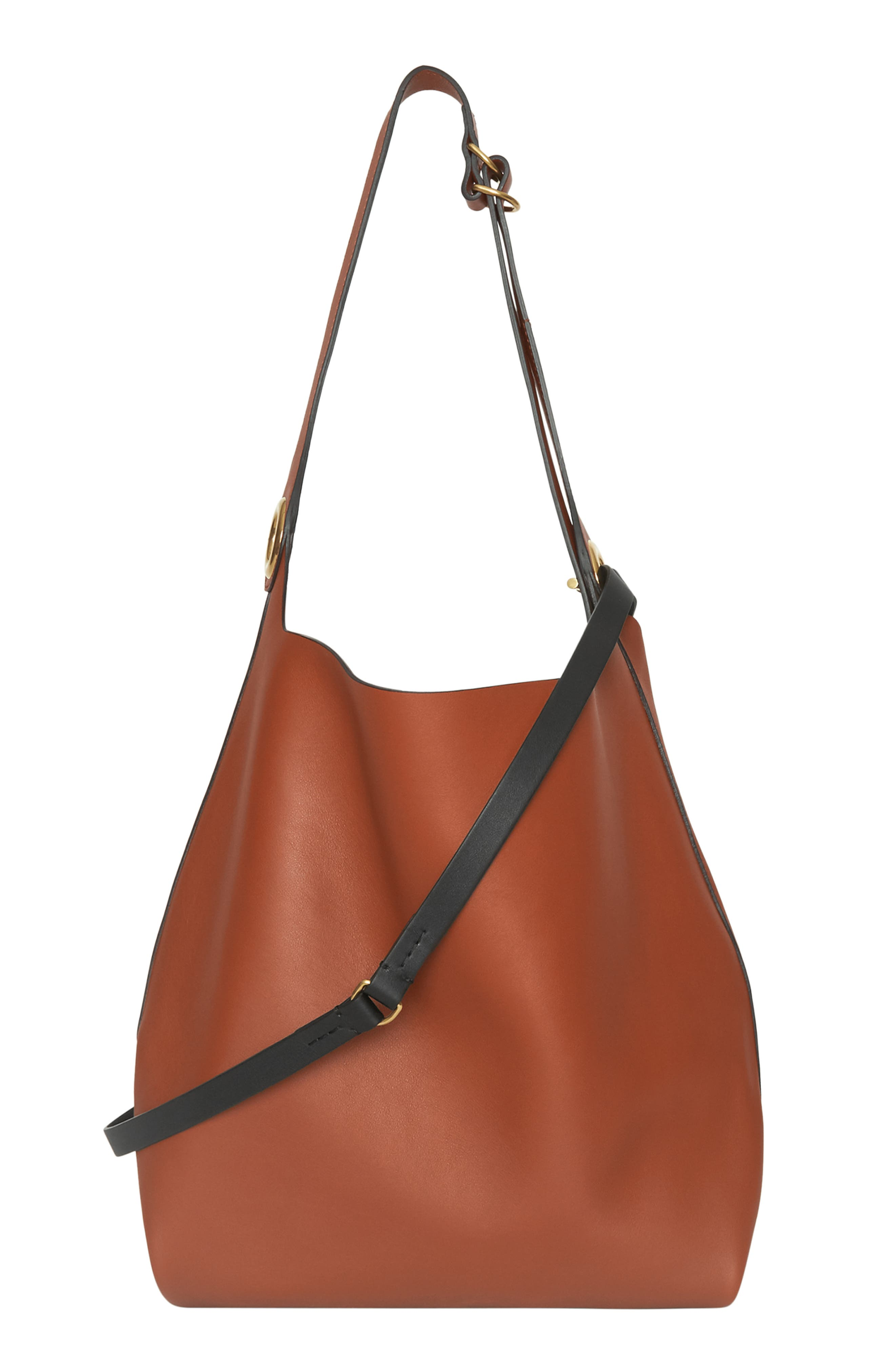 Grommet Medium Leather Hobo,                             Alternate thumbnail 2, color,                             216