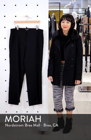 Parisian Crepe Straight Leg Pants, sales video thumbnail