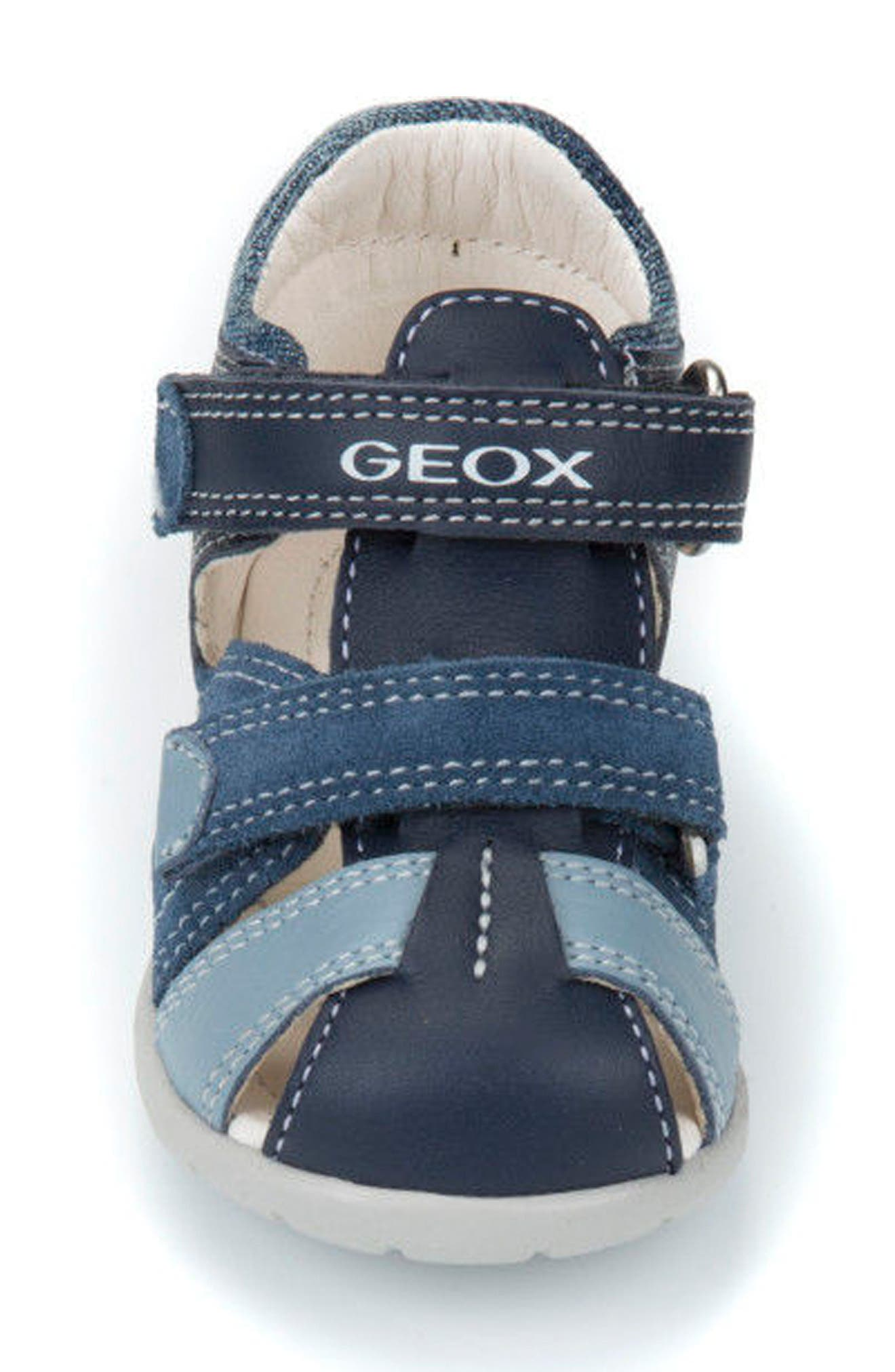 'Kaytan' Sandal,                             Alternate thumbnail 4, color,                             NAVY/ AVIO