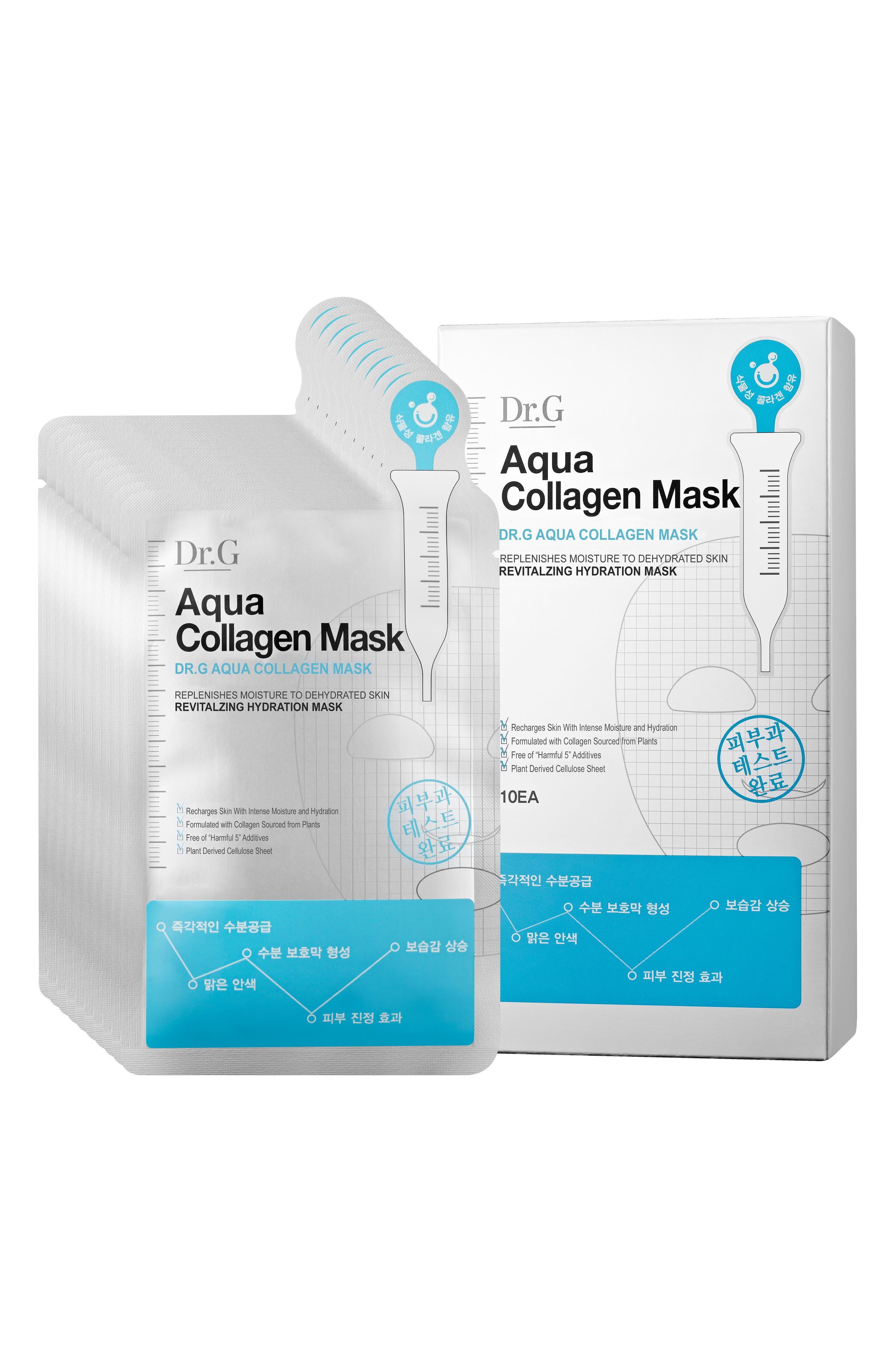 Aqua Collagen Mask,                             Alternate thumbnail 2, color,                             000
