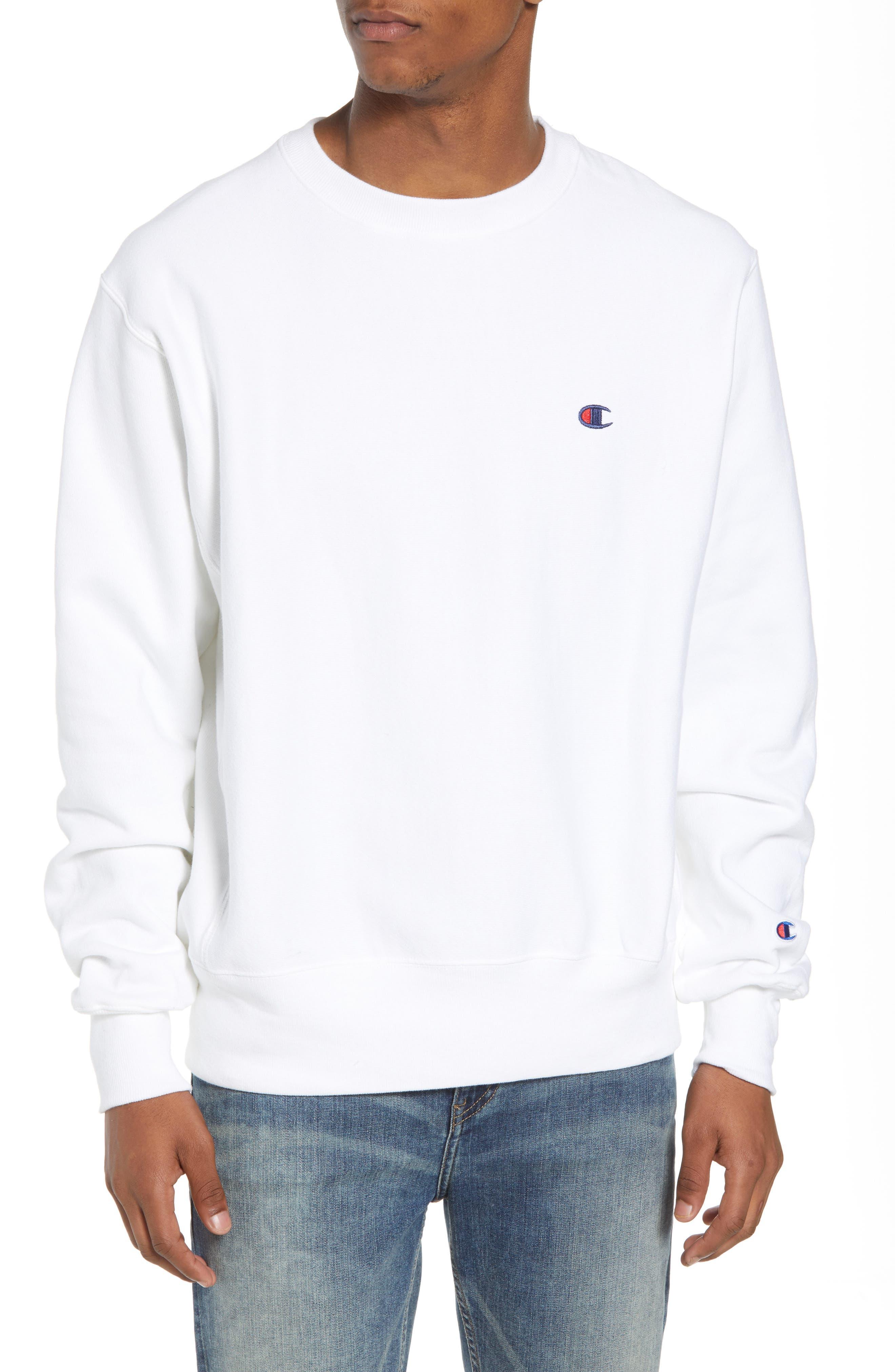 Reverse Weave Sweatshirt,                             Main thumbnail 4, color,