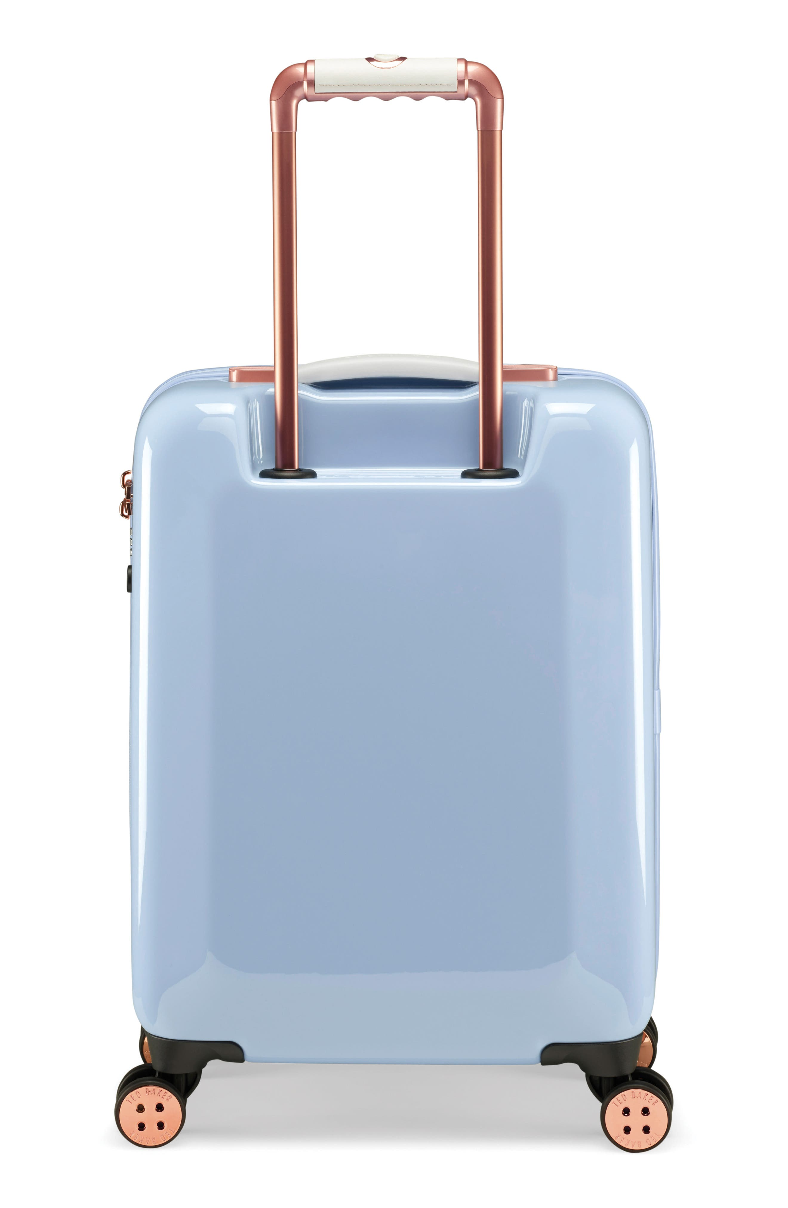 Small Harmony 21-Inch Spinner Carry-On,                             Alternate thumbnail 4, color,                             BLUE
