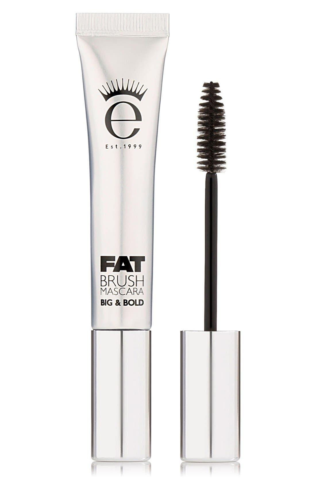 Fat Brush Mascara,                         Main,                         color, BLACK