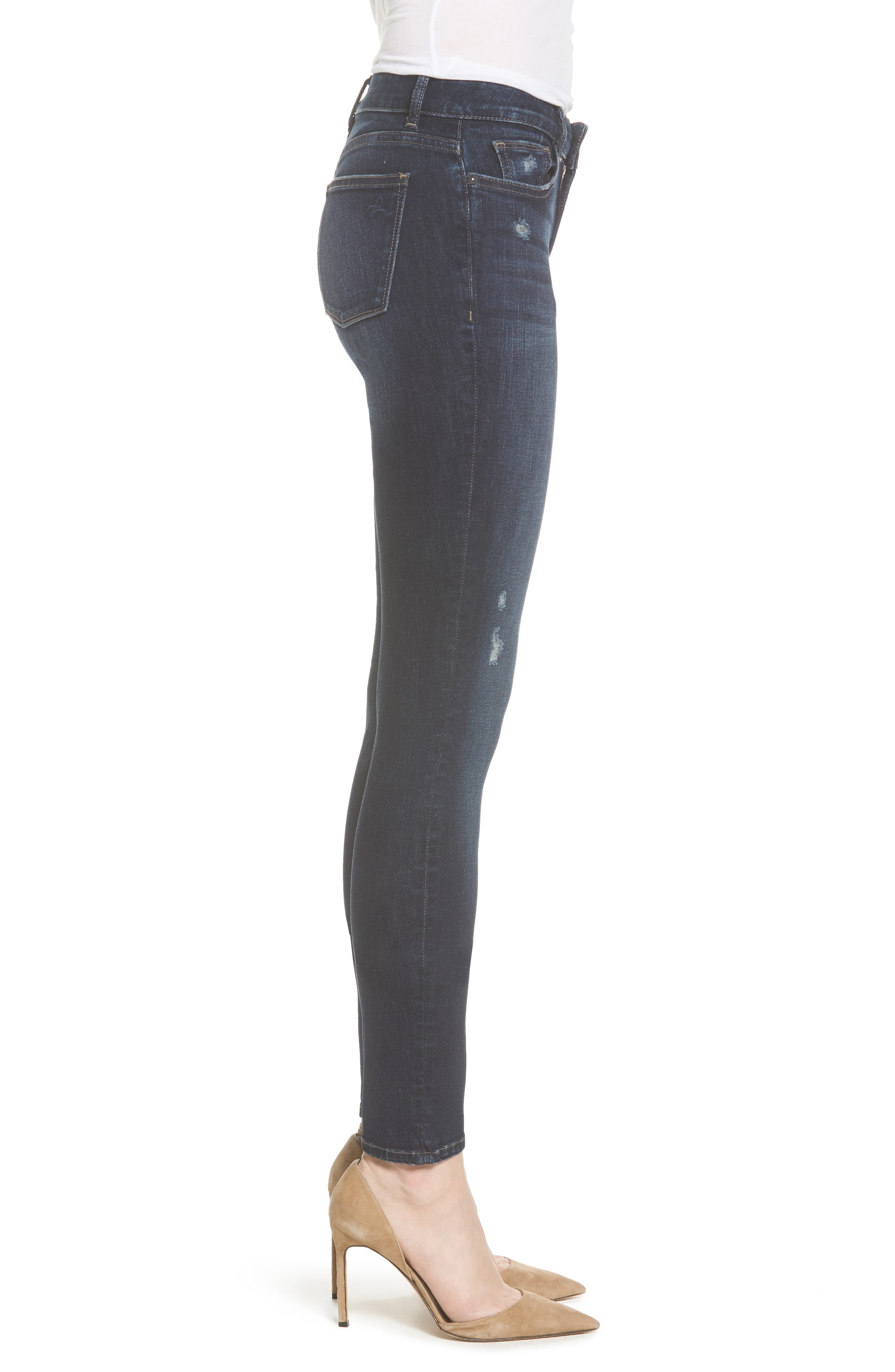 Florence Instasculpt Skinny Jeans,                             Alternate thumbnail 3, color,                             405