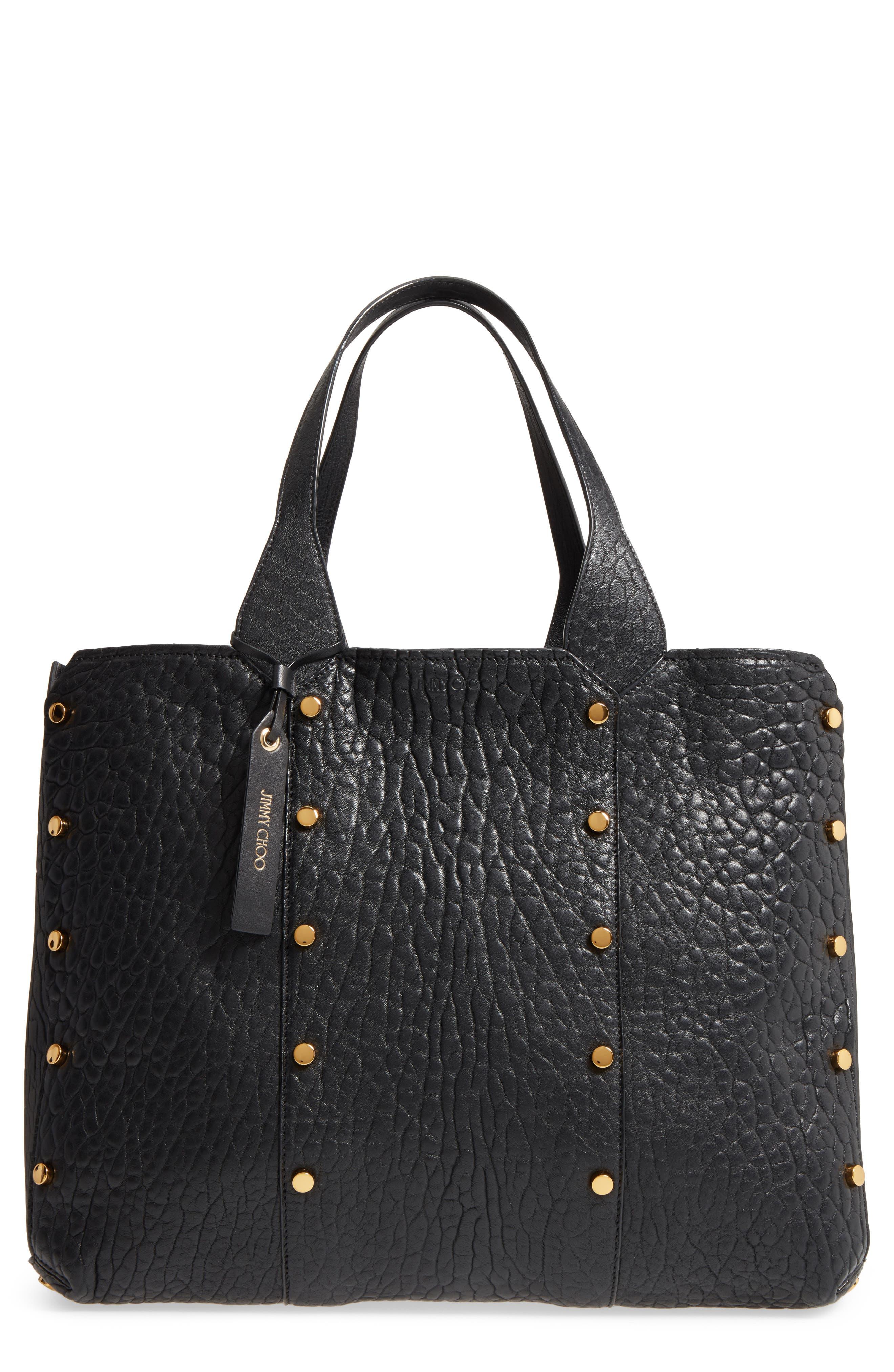 Lockett Leather Shopper,                             Main thumbnail 1, color,                             002