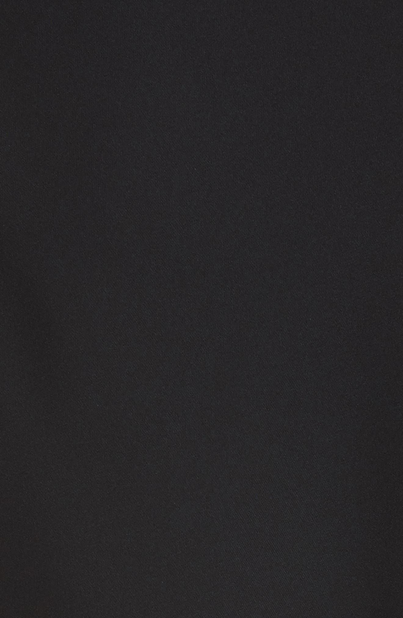 Turtleneck Bias Silk Top,                             Alternate thumbnail 17, color,
