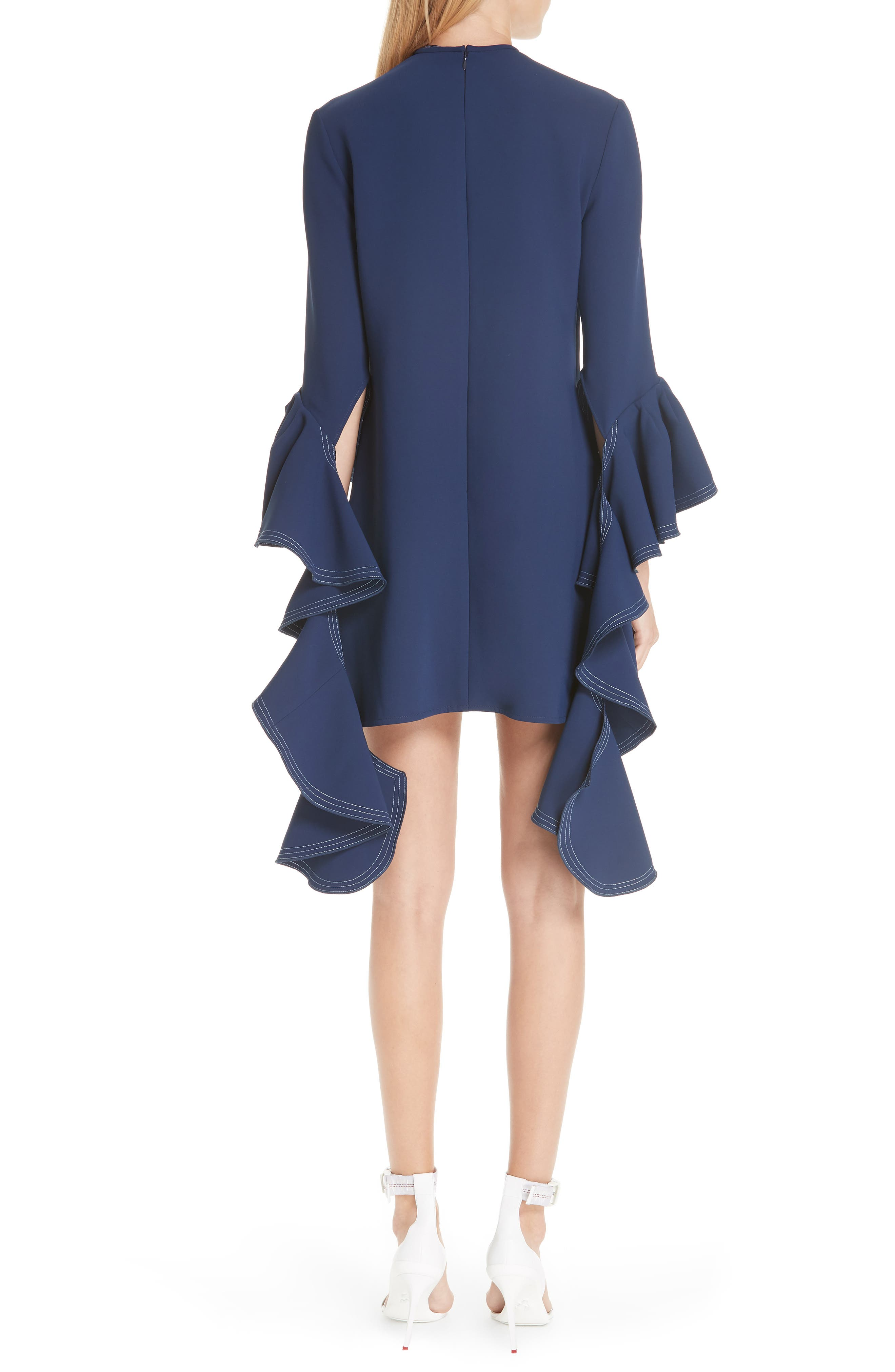 Kilkenny Frill Sleeve Minidress,                             Alternate thumbnail 2, color,                             400