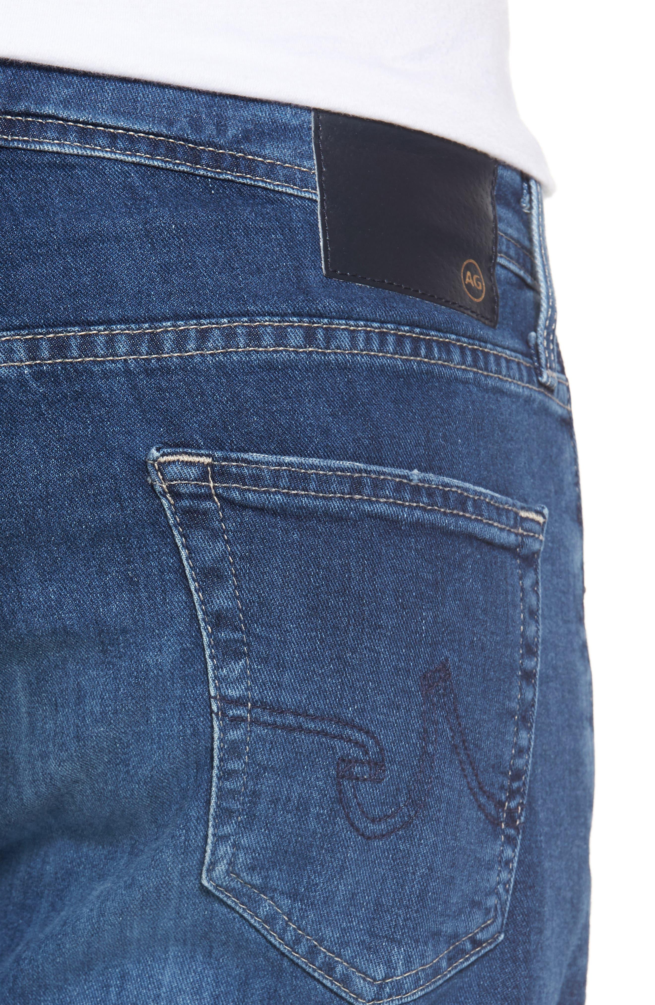 Ives Straight Leg Jeans,                             Alternate thumbnail 4, color,                             486