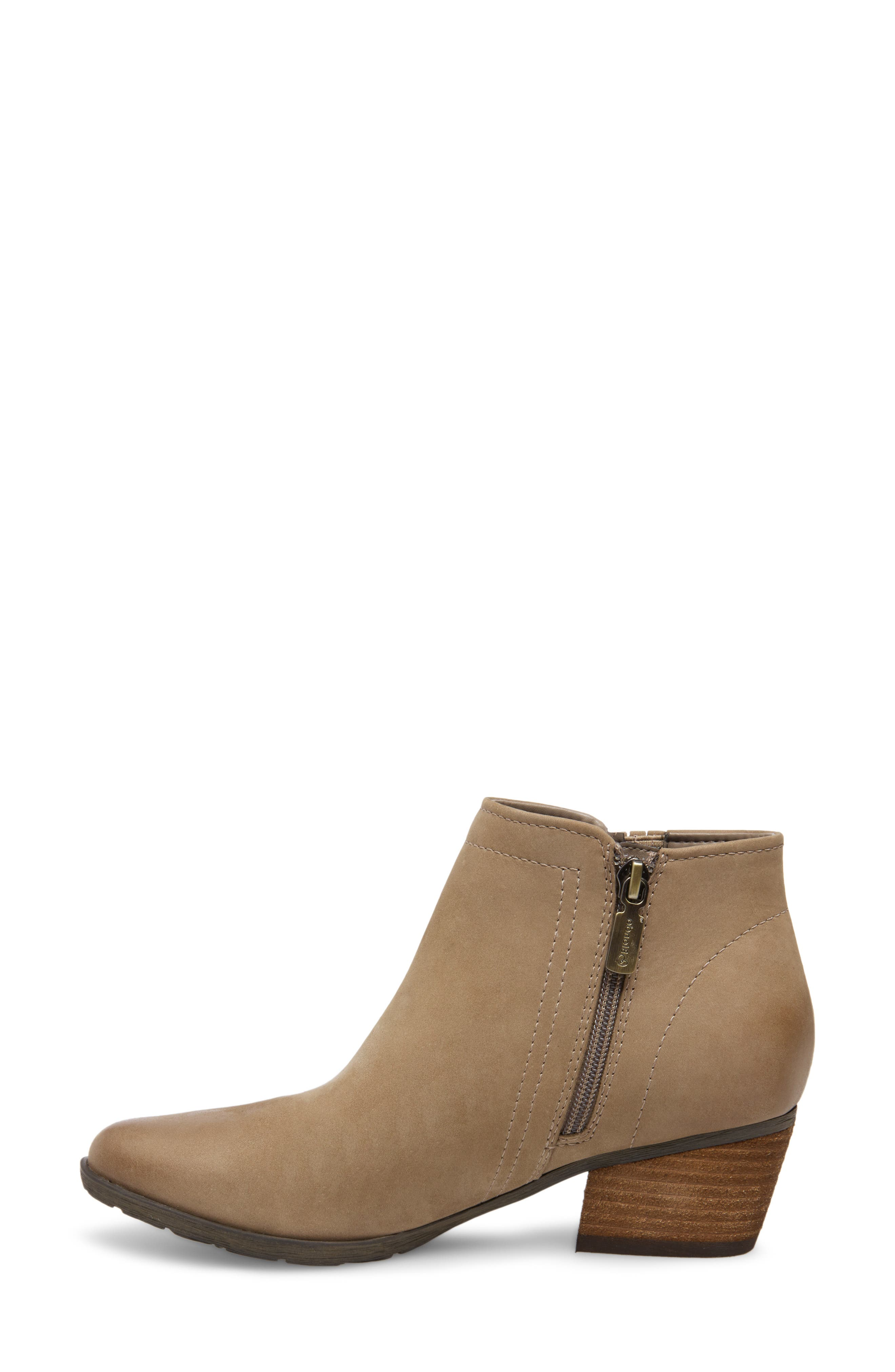 'Valli' Waterproof  Bootie,                             Alternate thumbnail 8, color,                             MUSHROOM NUBUCK