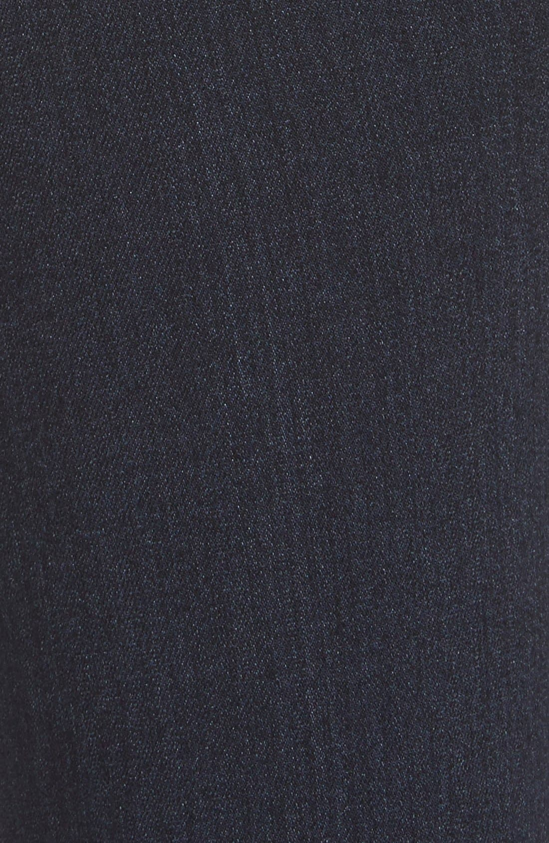 Denim 'Transcend - Hoxton' High Rise Ankle Skinny Jeans,                             Alternate thumbnail 5, color,                             400