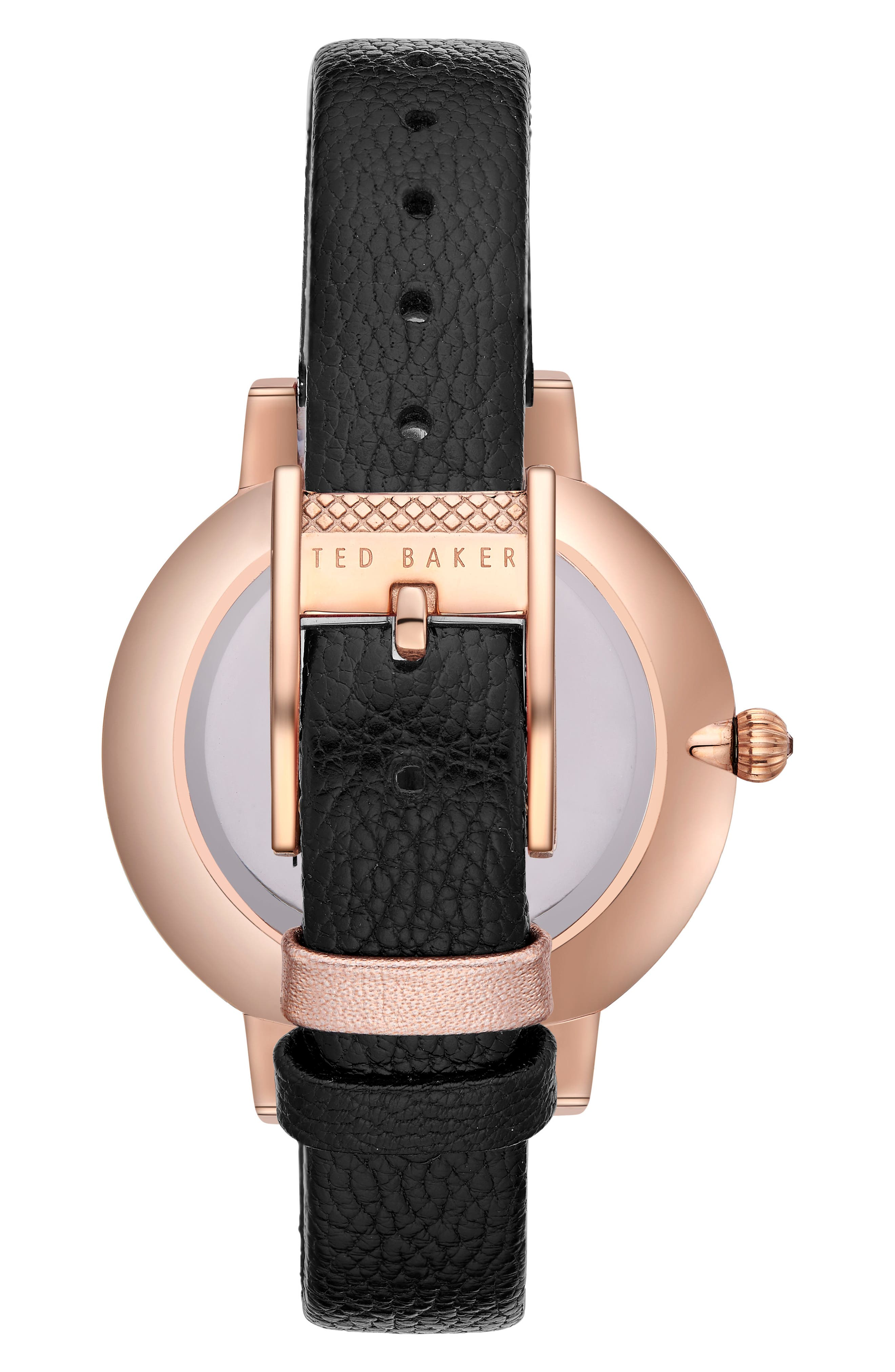 Kate Leather Strap Watch, 38mm,                             Alternate thumbnail 2, color,                             001