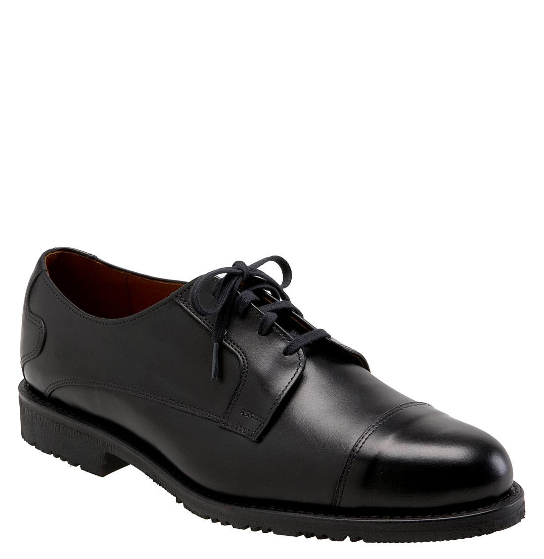 ALLEN EDMONDS 'Memphis' Cap Toe Oxford, Main, color, 001