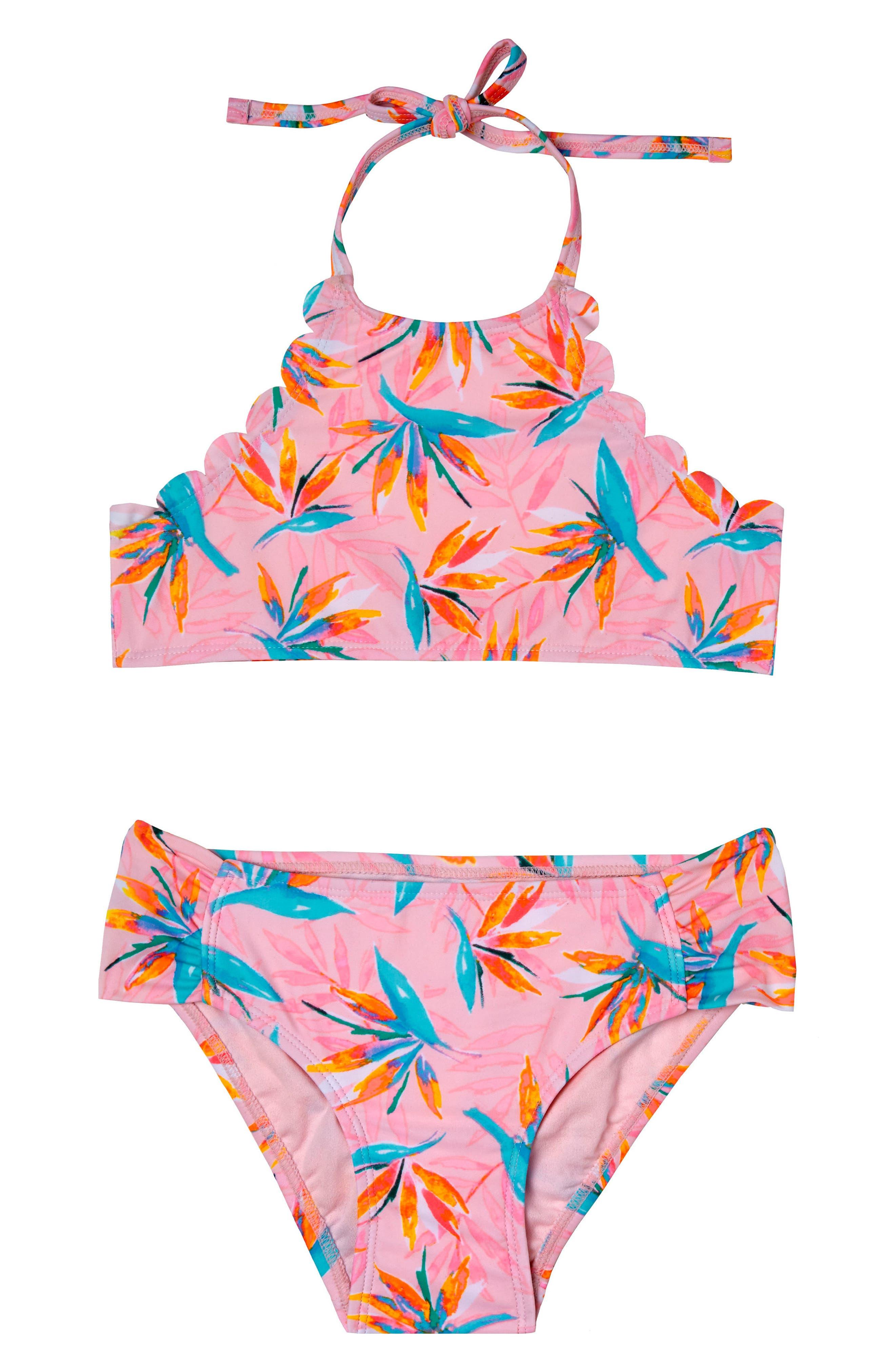 Paradise Haven Two-Piece Swimsuit,                         Main,                         color, 650