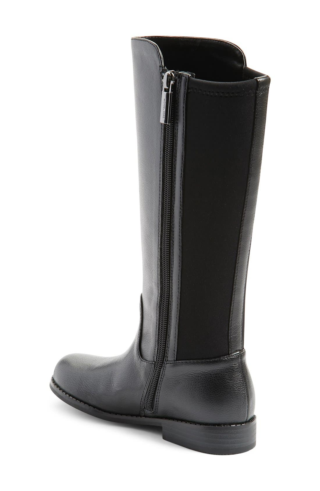 'Emma Lily' Riding Boot,                             Alternate thumbnail 2, color,                             001