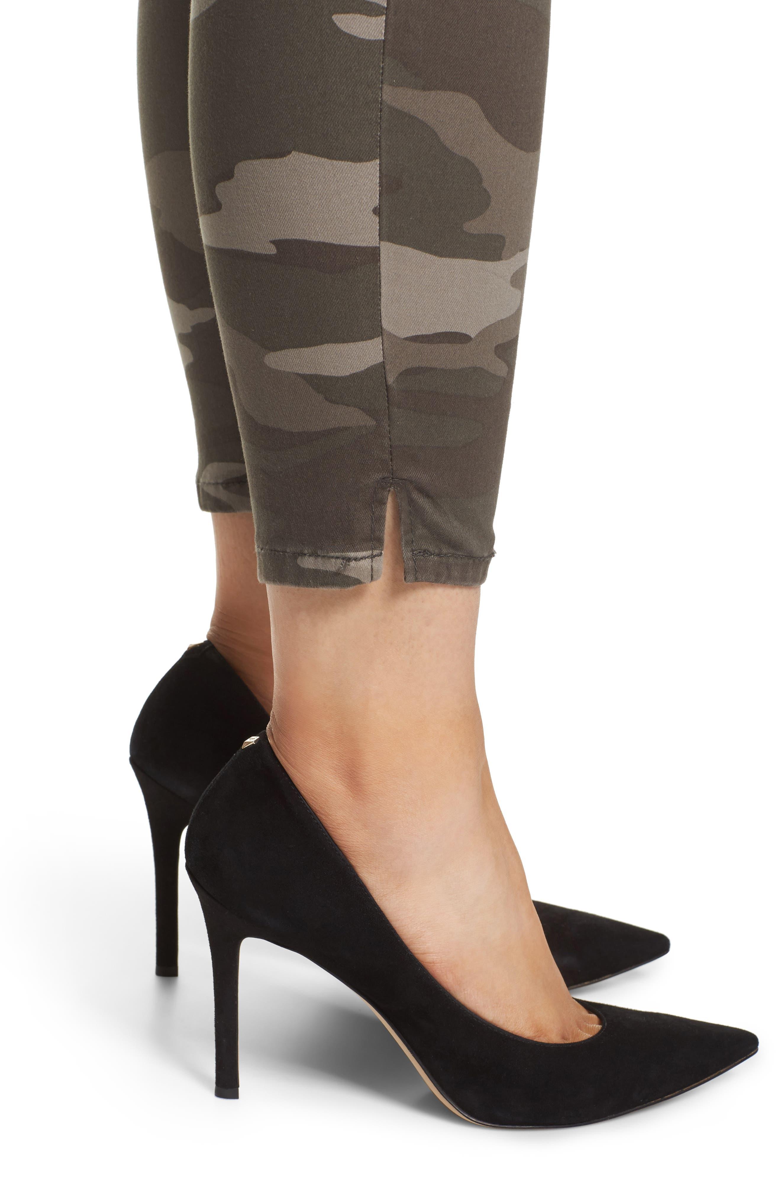 Ab-solution Ankle Skimmer Slit Pants,                             Alternate thumbnail 4, color,                             210