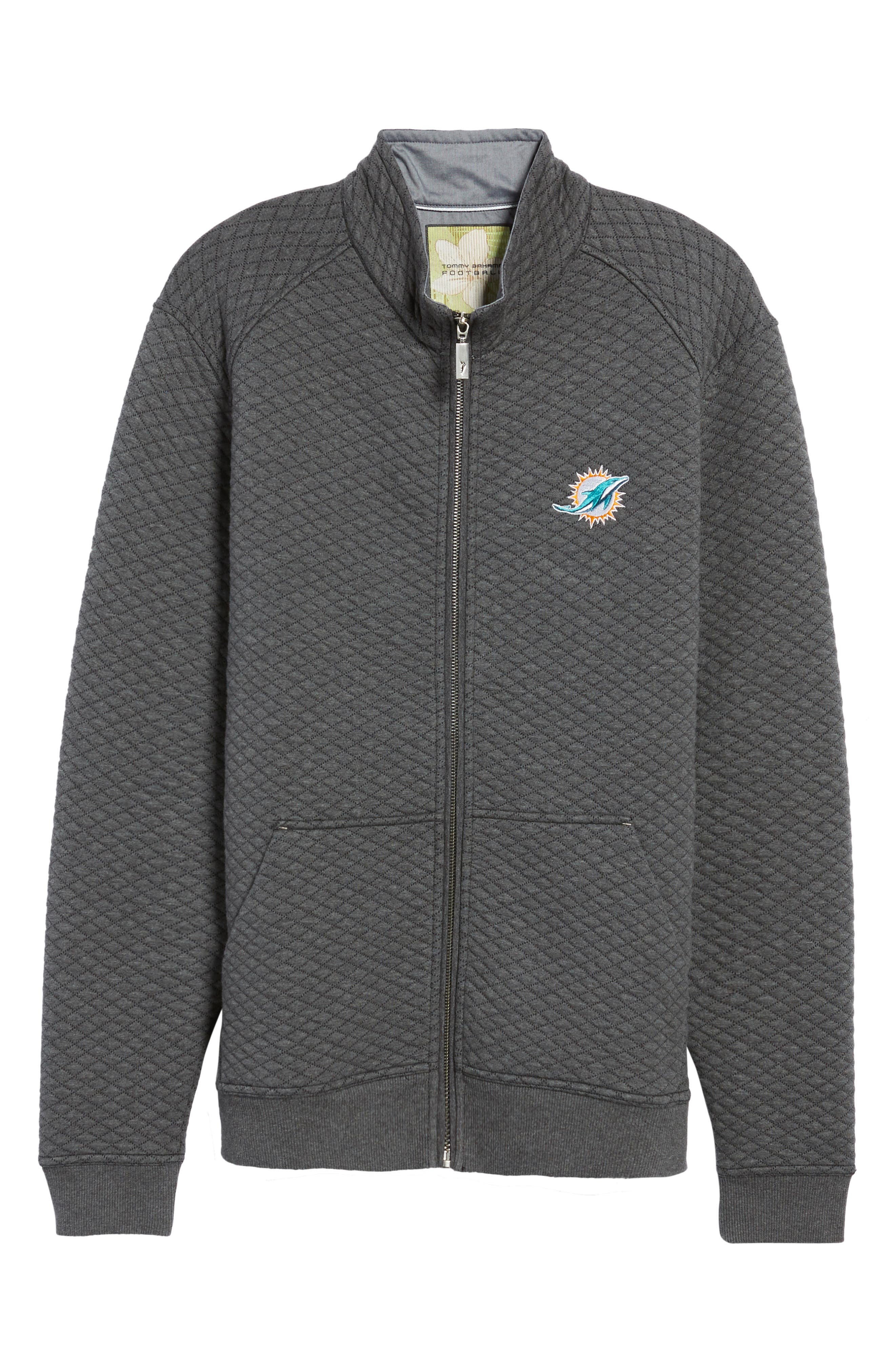 NFL Quiltessential Full Zip Sweatshirt,                             Alternate thumbnail 168, color,