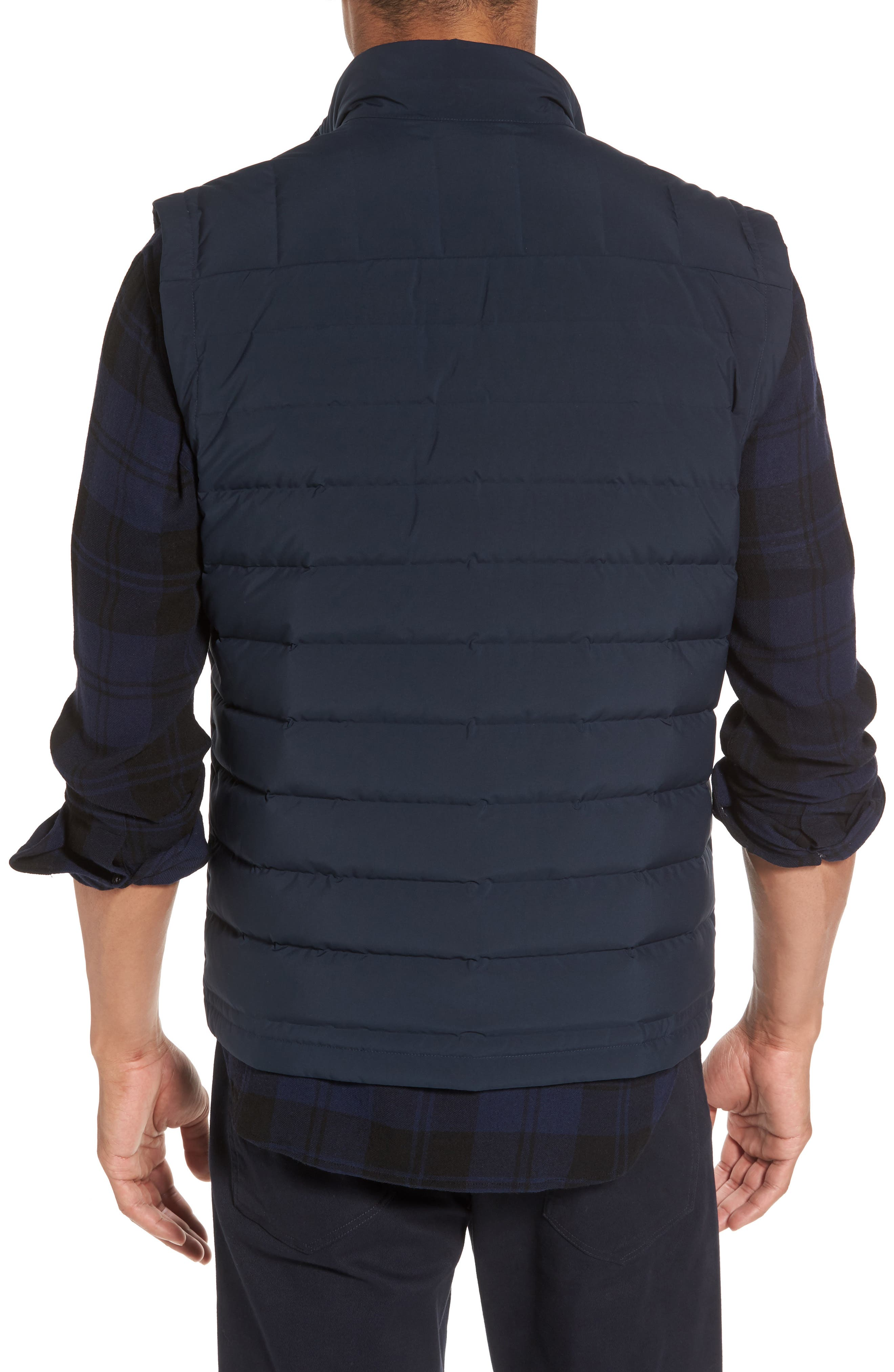 Quilted Down Vest,                             Alternate thumbnail 2, color,