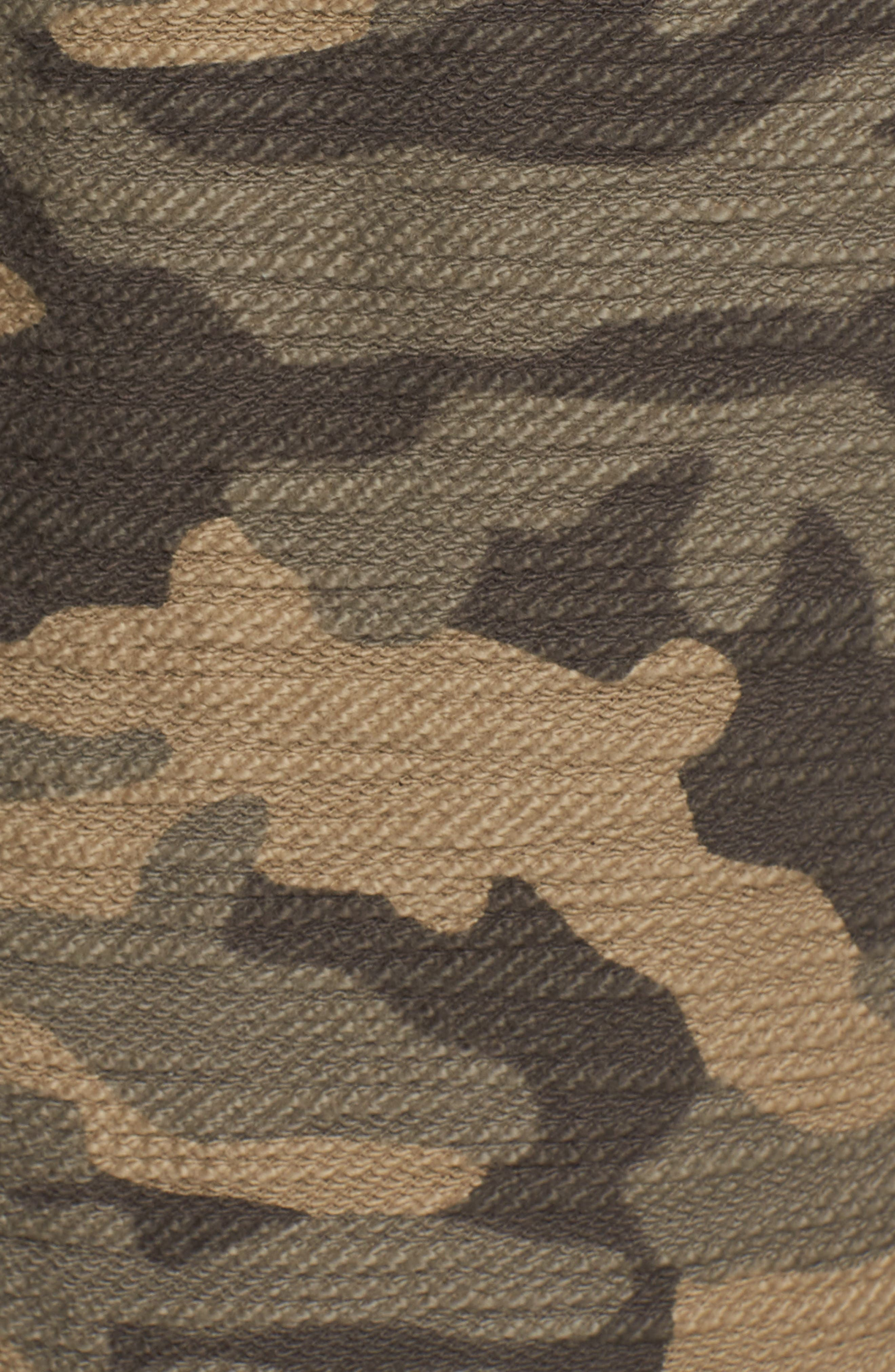 Camo Fleece Sweatpants,                             Alternate thumbnail 5, color,                             300