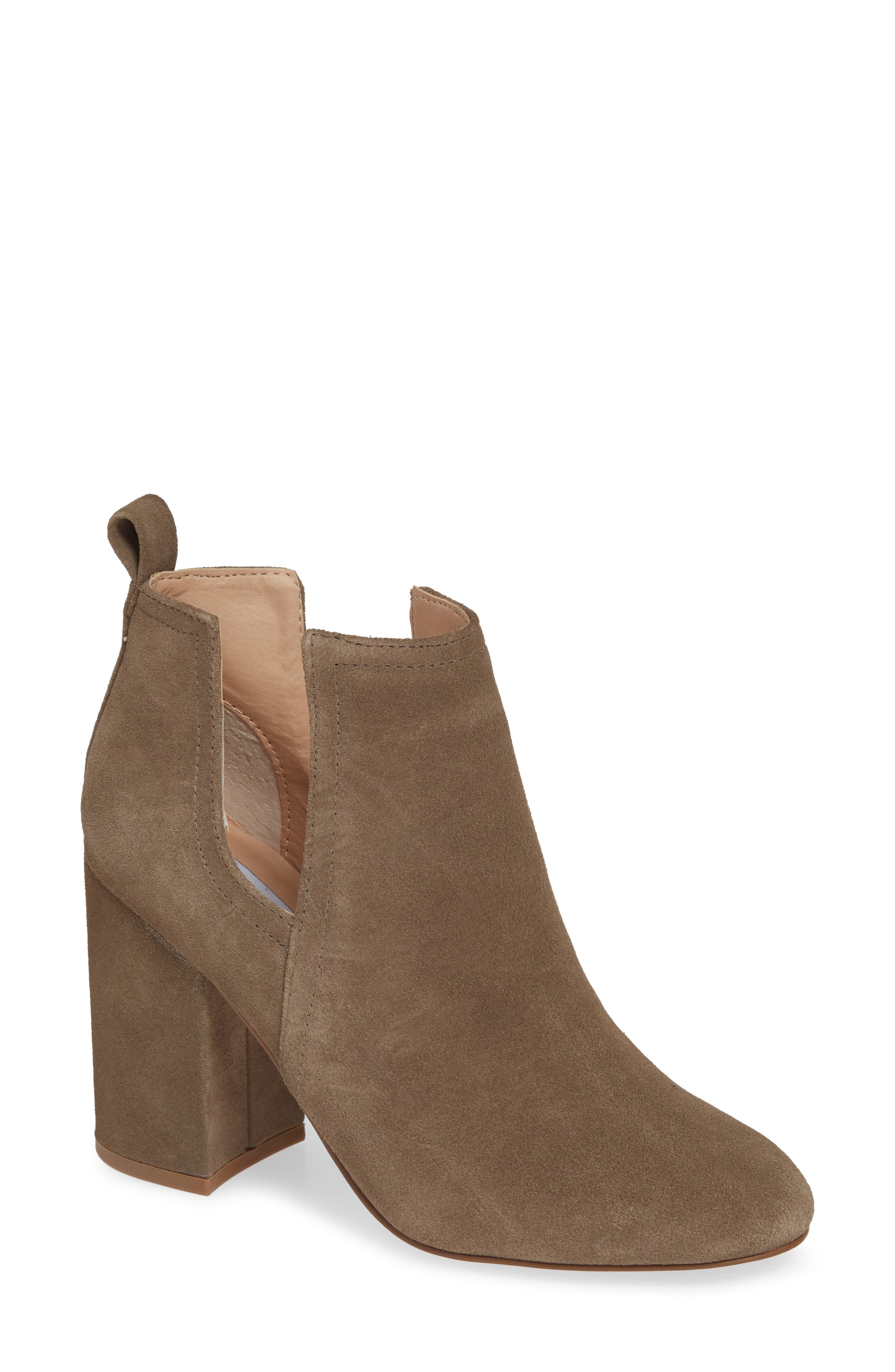 Nayna Bootie,                             Main thumbnail 1, color,                             DARK TAUPE