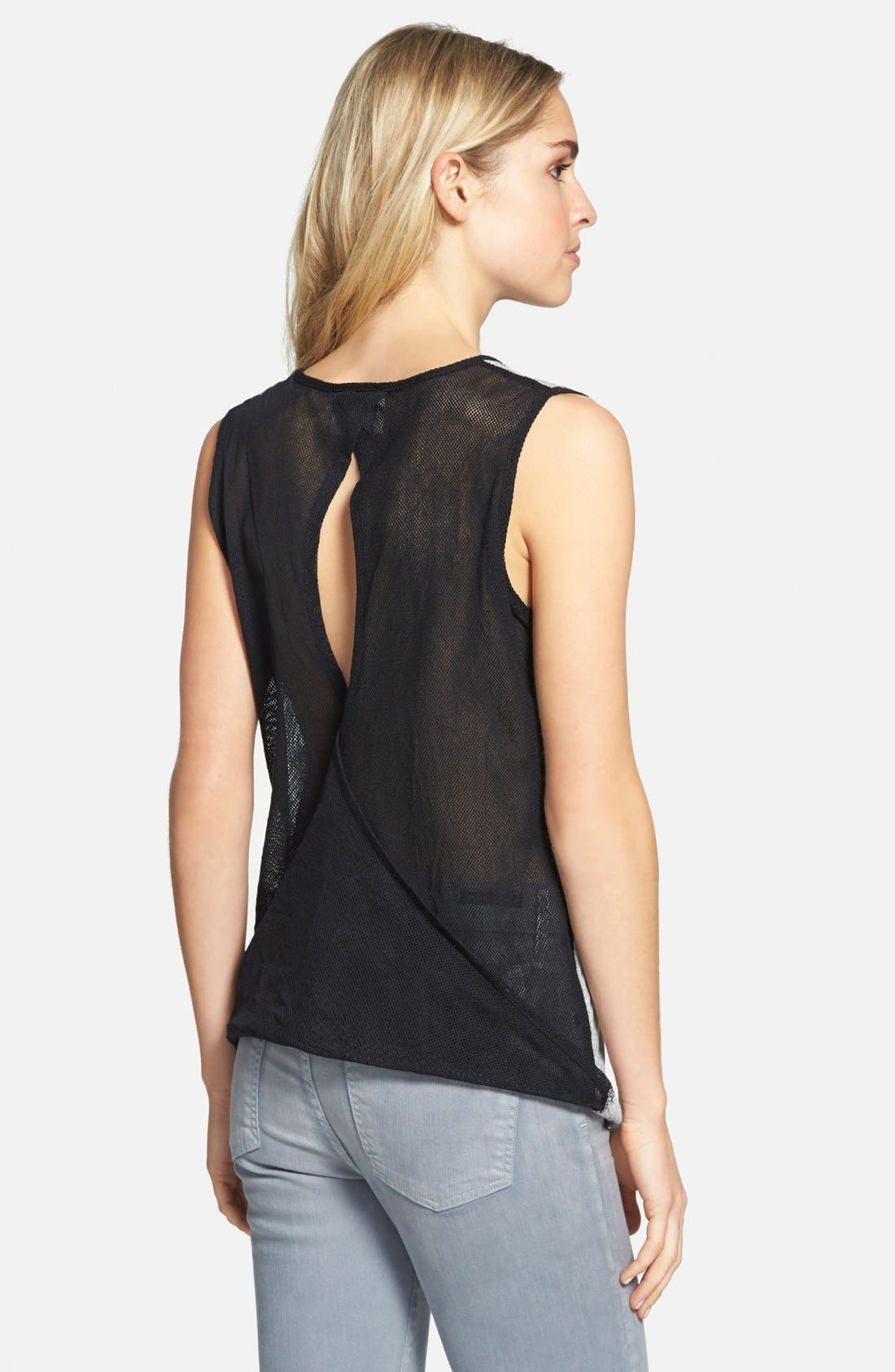 Après Ramy Brook 'Andi' Mesh Back Tank,                             Alternate thumbnail 2, color,                             055