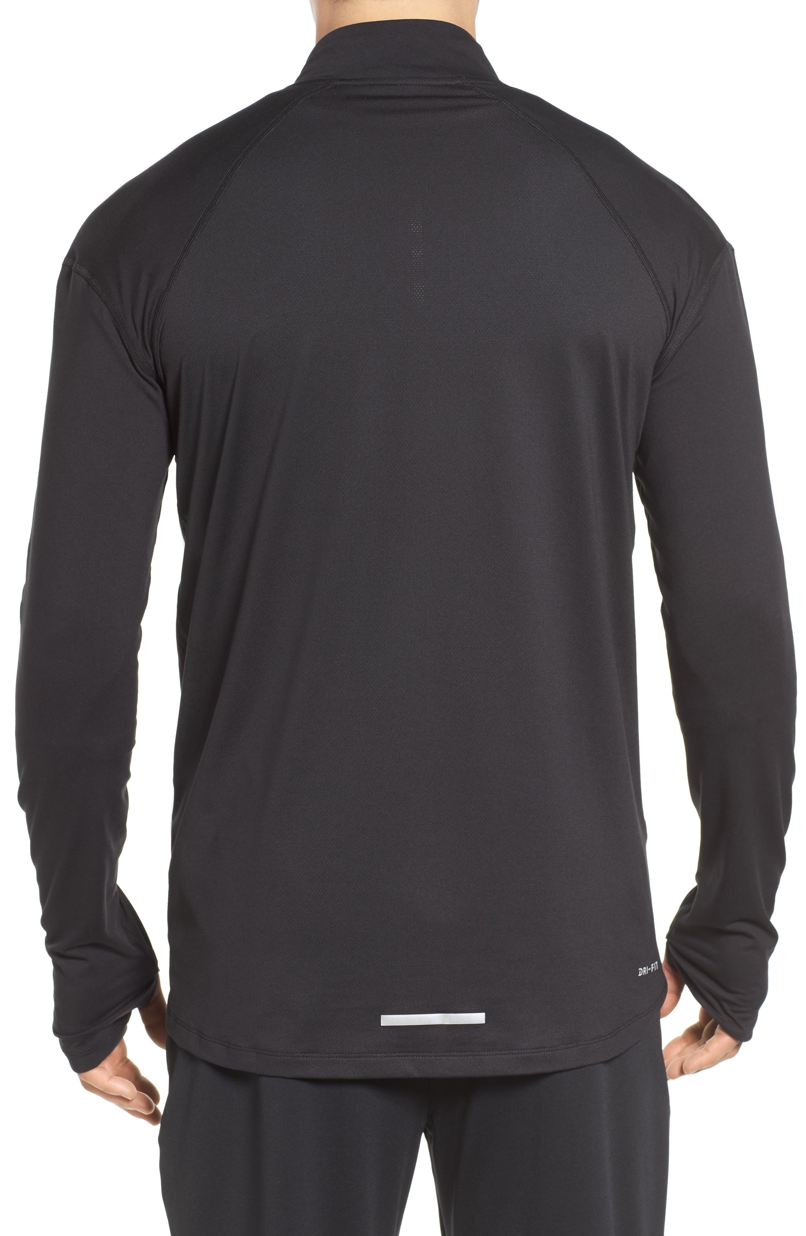 Dry Element Running Top,                             Alternate thumbnail 2, color,                             BLACK