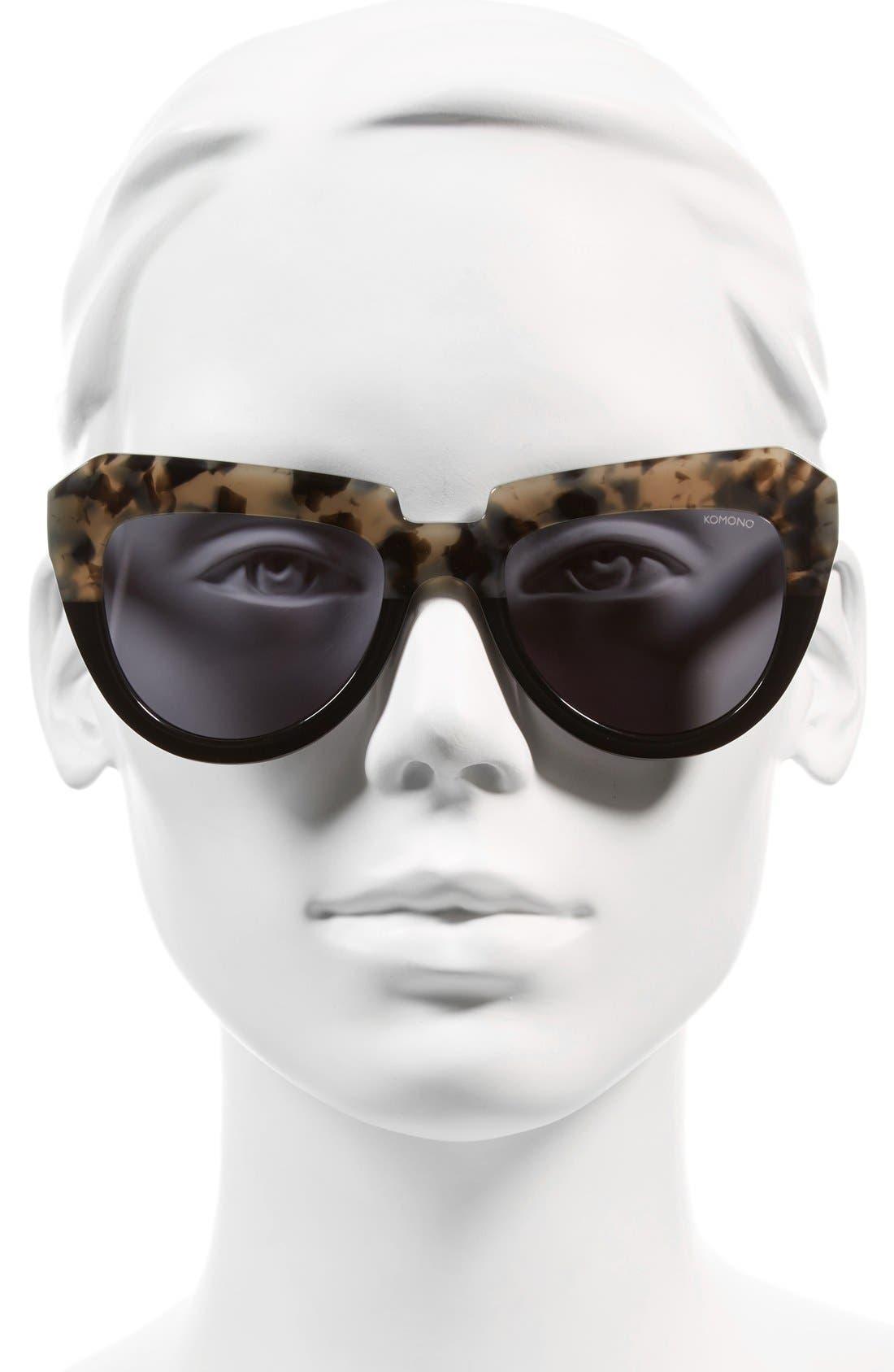 Stella 51mm Sunglasses,                             Alternate thumbnail 9, color,