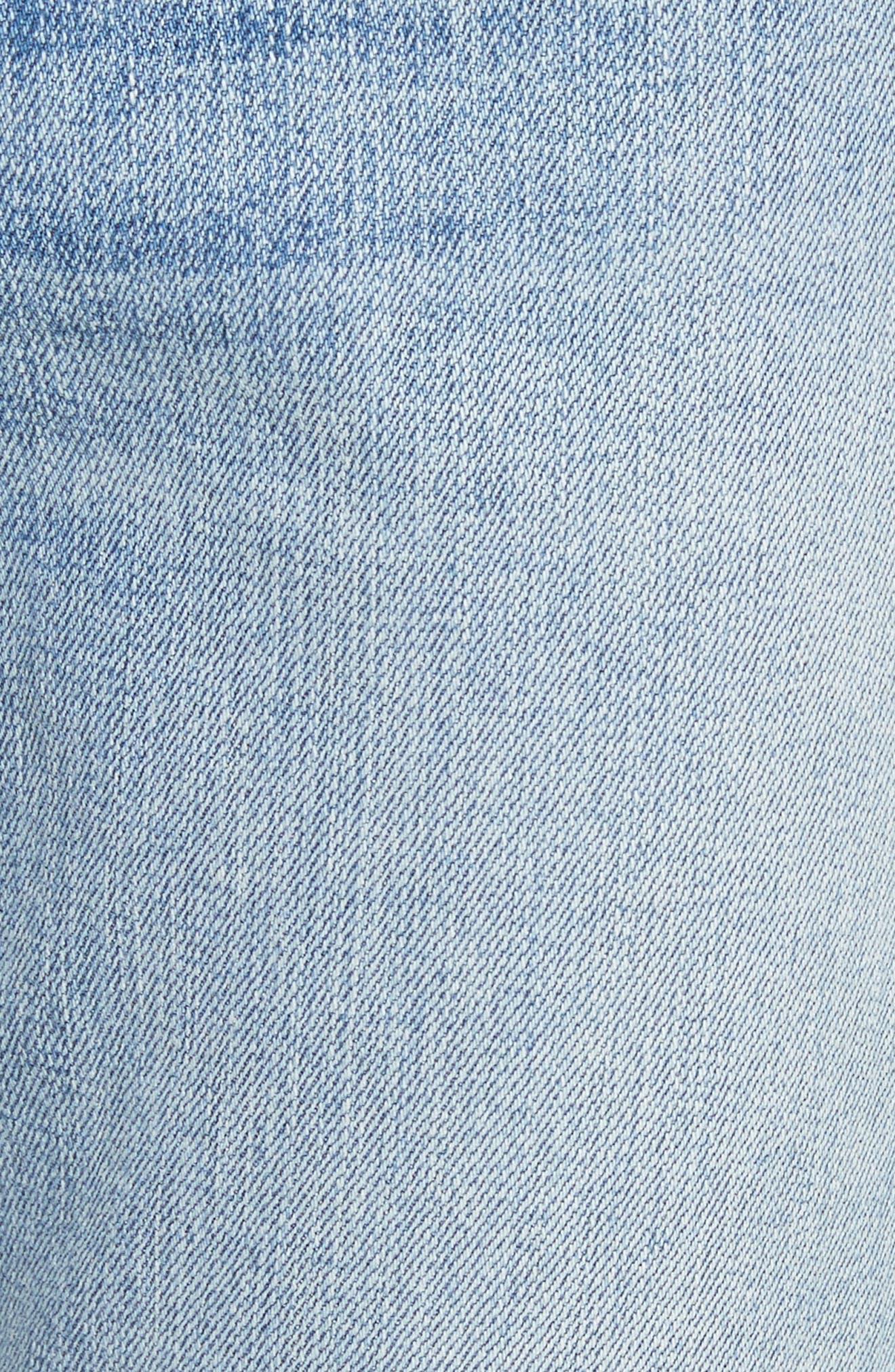 The Dre Ankle Slim Boyfriend Jeans,                             Alternate thumbnail 5, color,                             420