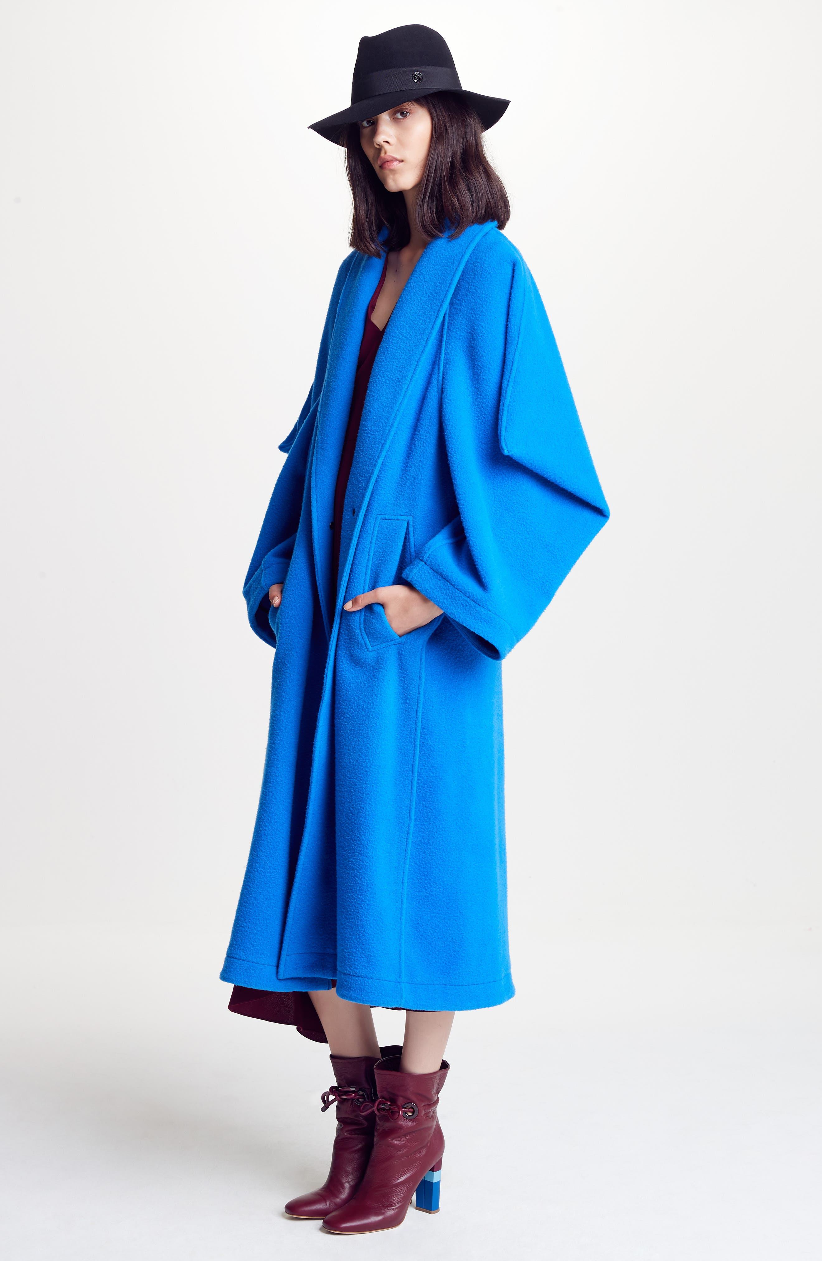 Hotaru Wool & Cashmere Coat,                             Alternate thumbnail 7, color,                             405