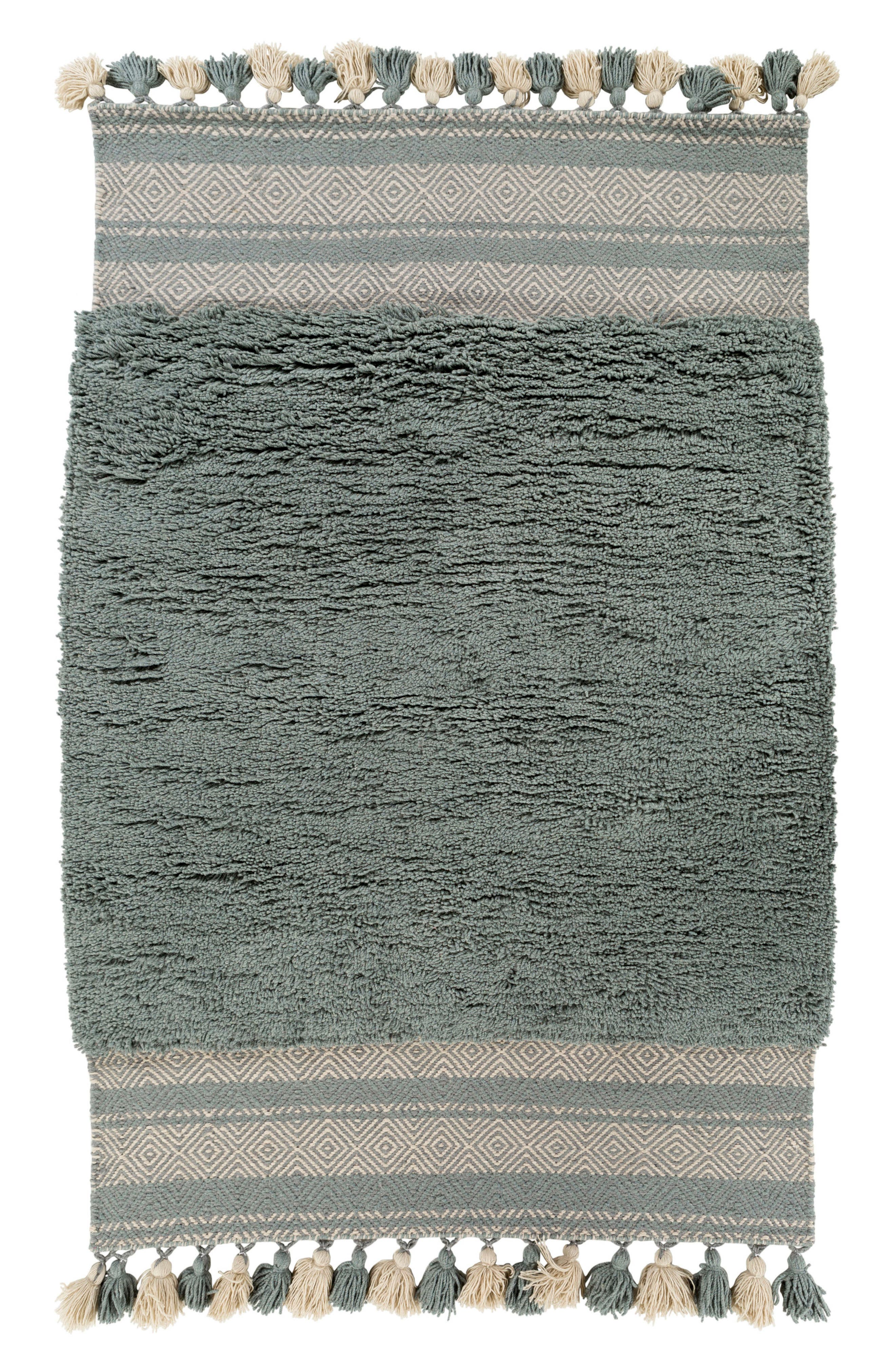 Korva Modern Handwoven Rug,                             Main thumbnail 2, color,