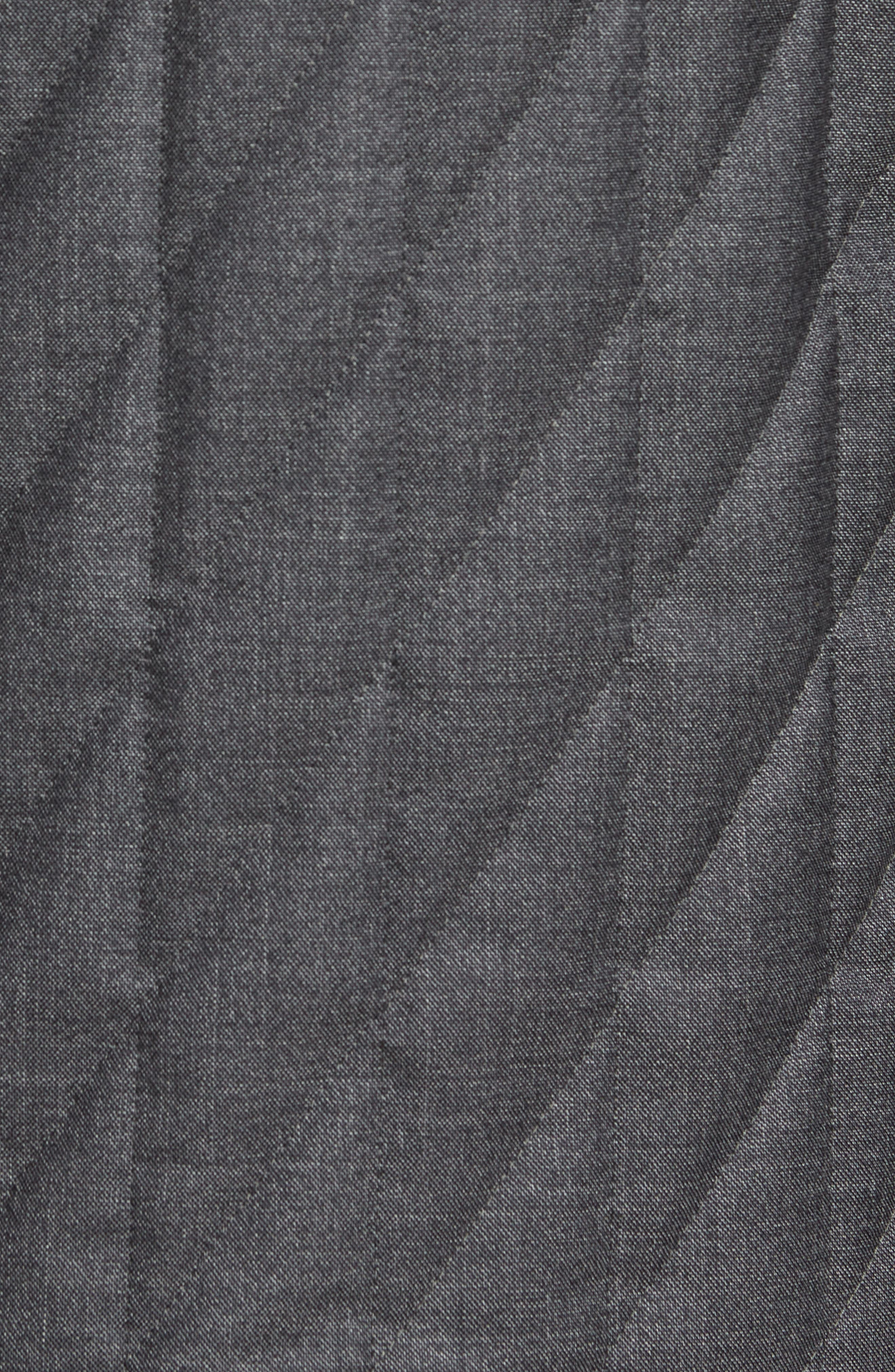Classic Fit Quilted Wool Blend Shirt Jacket,                             Alternate thumbnail 6, color,                             031
