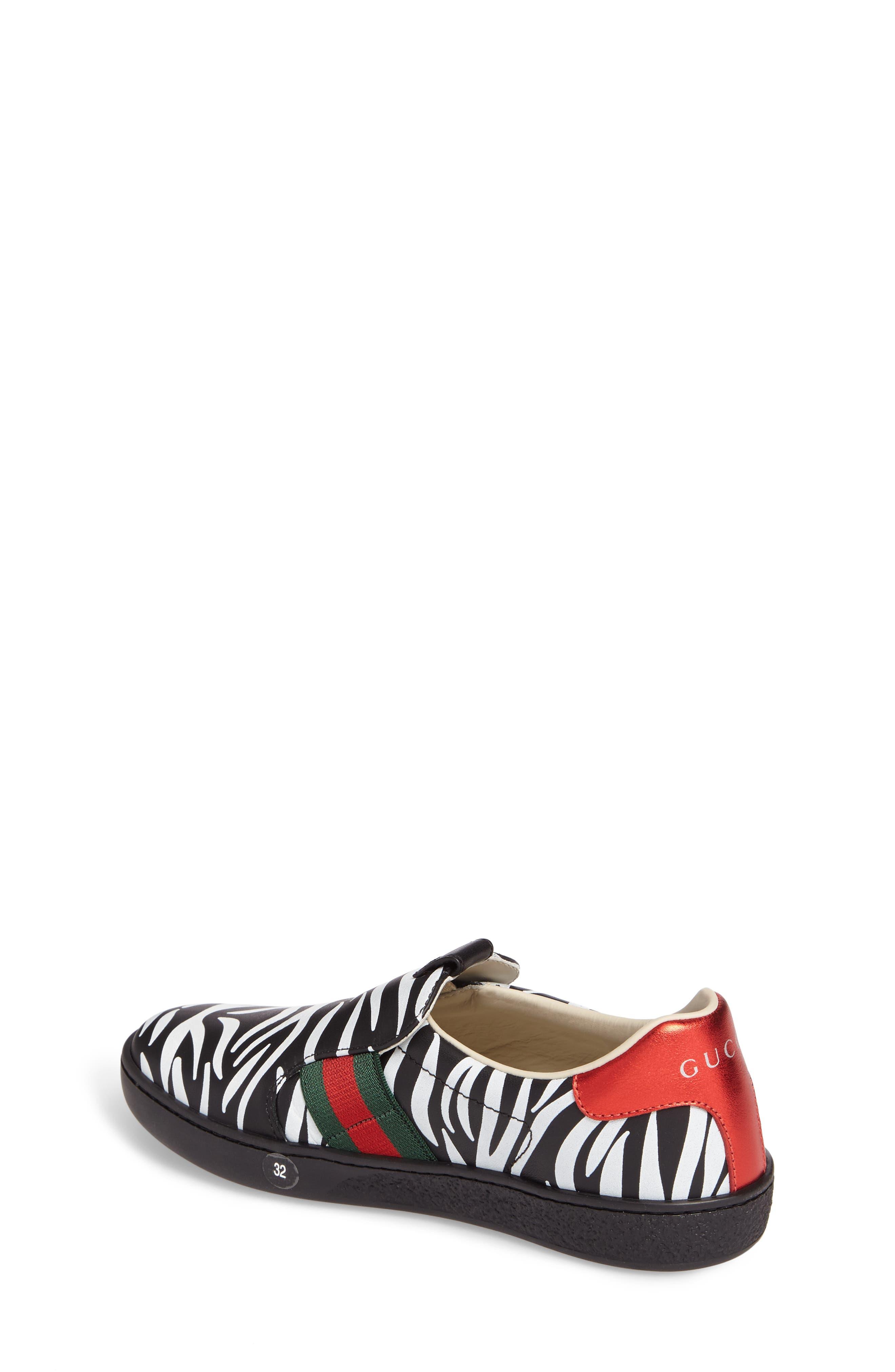 New Ace Print Slip-On Sneaker,                             Alternate thumbnail 2, color,