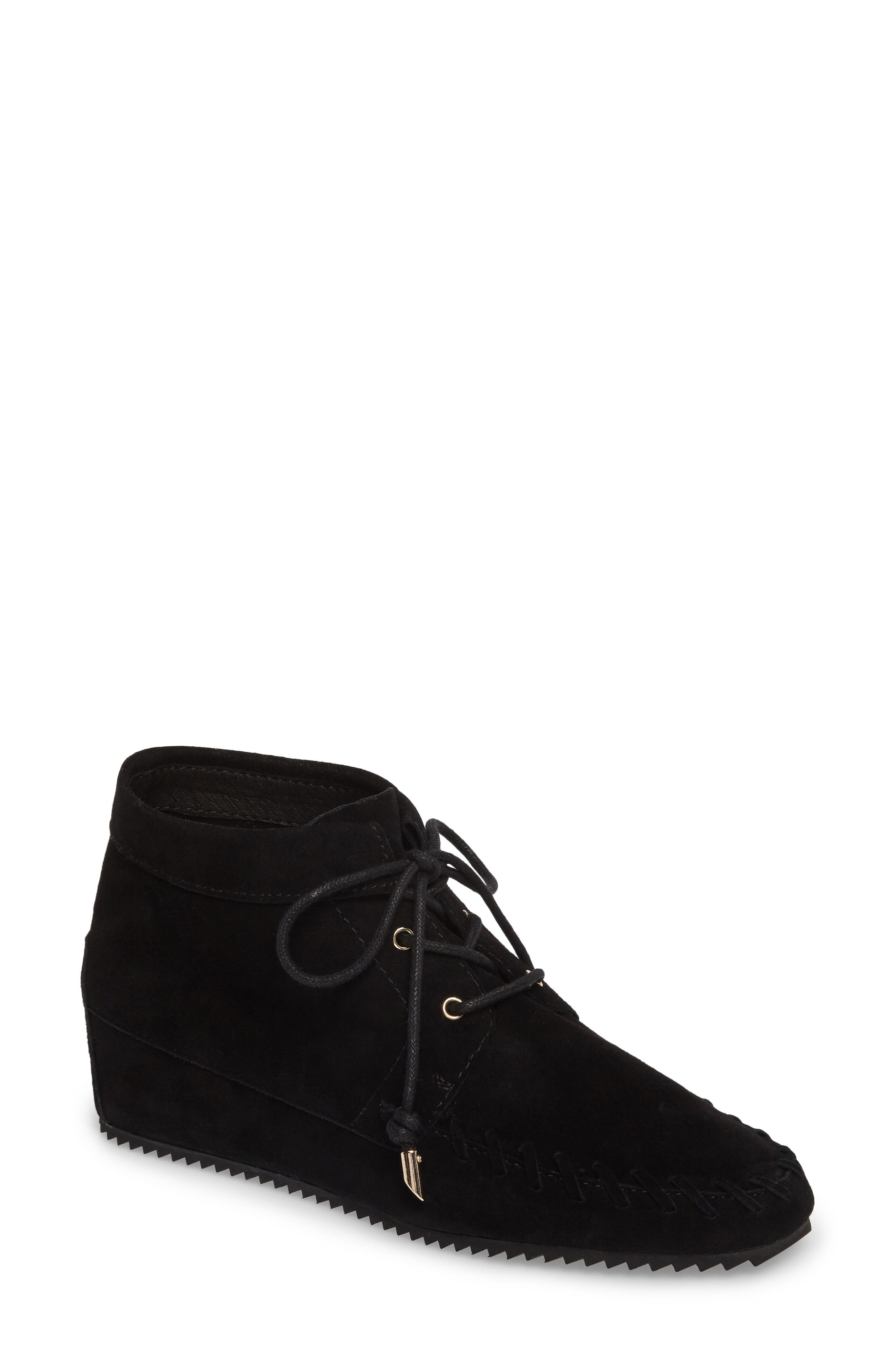 Jenna Wedge Bootie,                             Main thumbnail 1, color,                             001