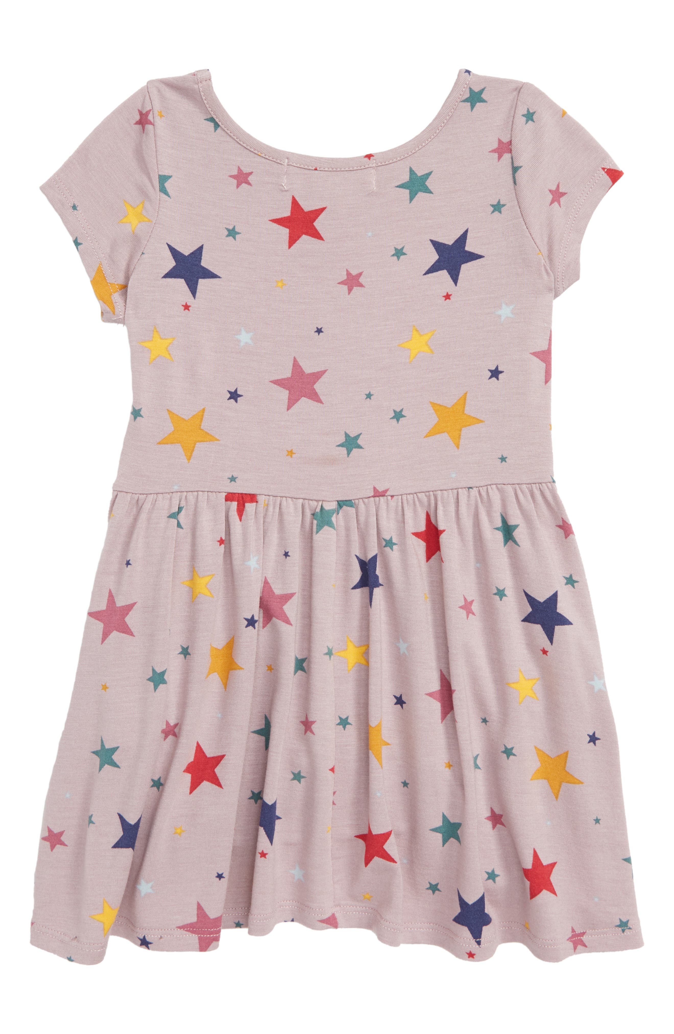 Candice Star Print Dress,                             Alternate thumbnail 2, color,                             LILAC