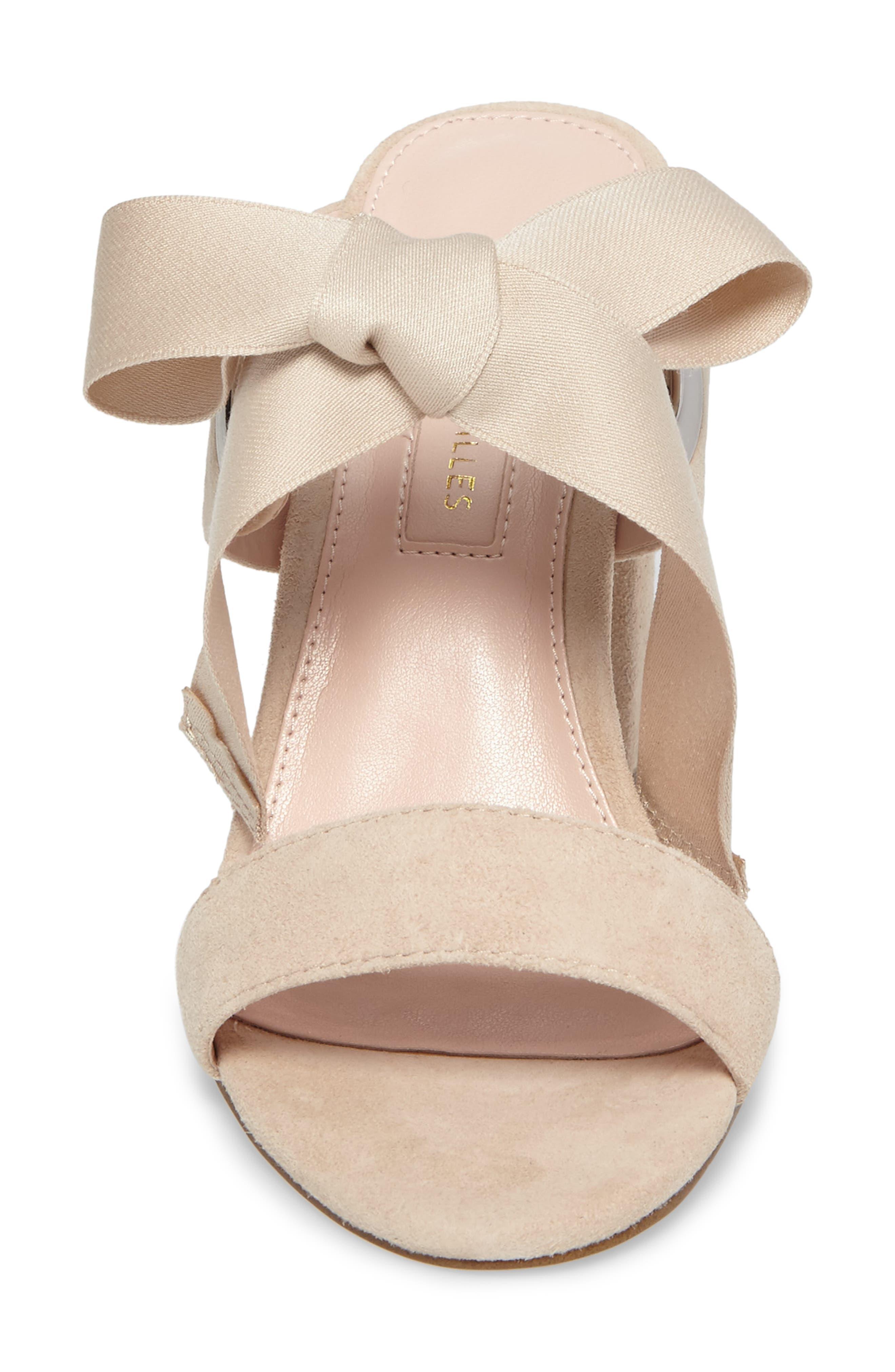 Megan Tie Strap Sandal,                             Alternate thumbnail 8, color,