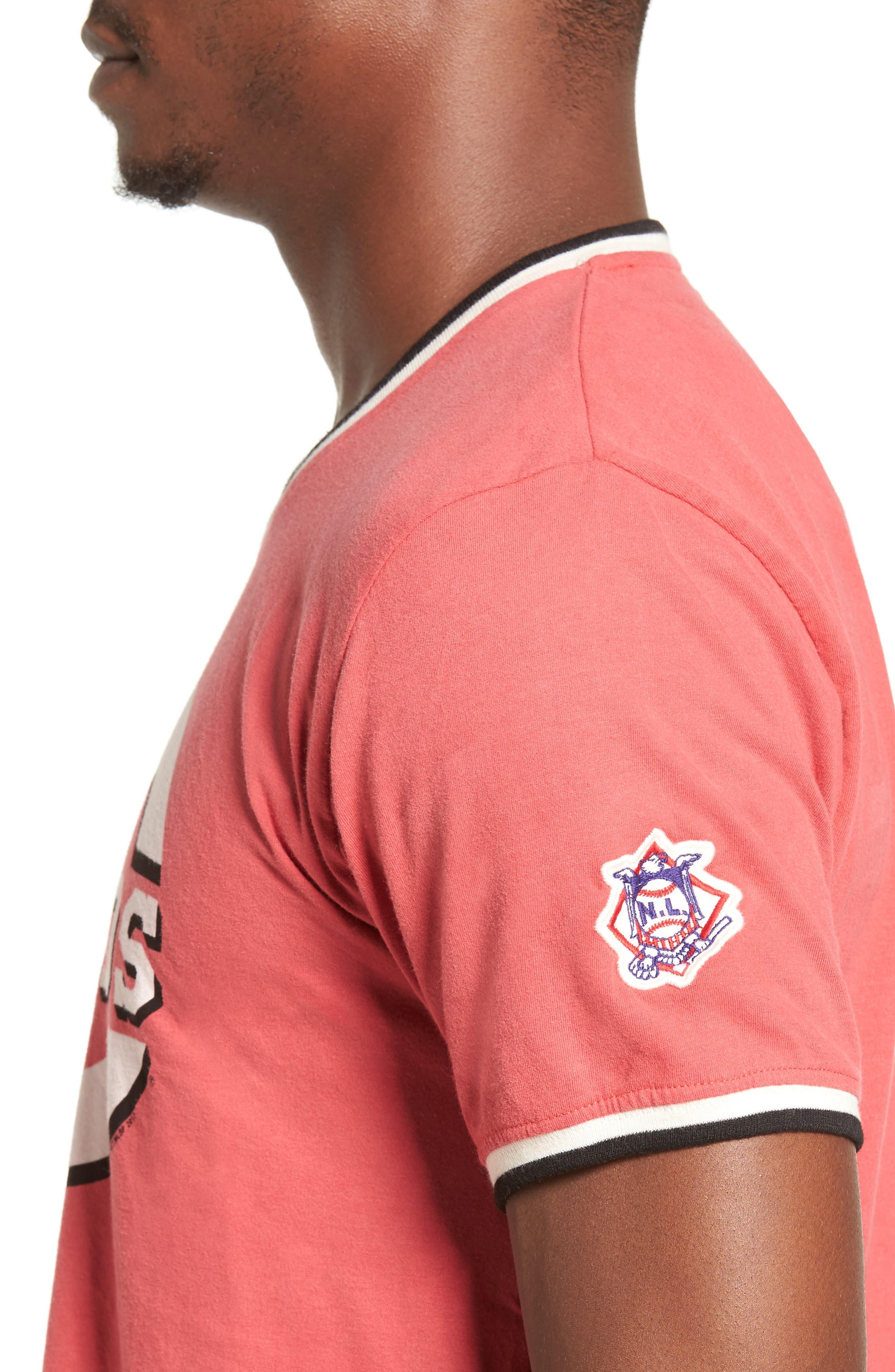 Eastwood Cincinnati Reds T-Shirt,                             Alternate thumbnail 4, color,