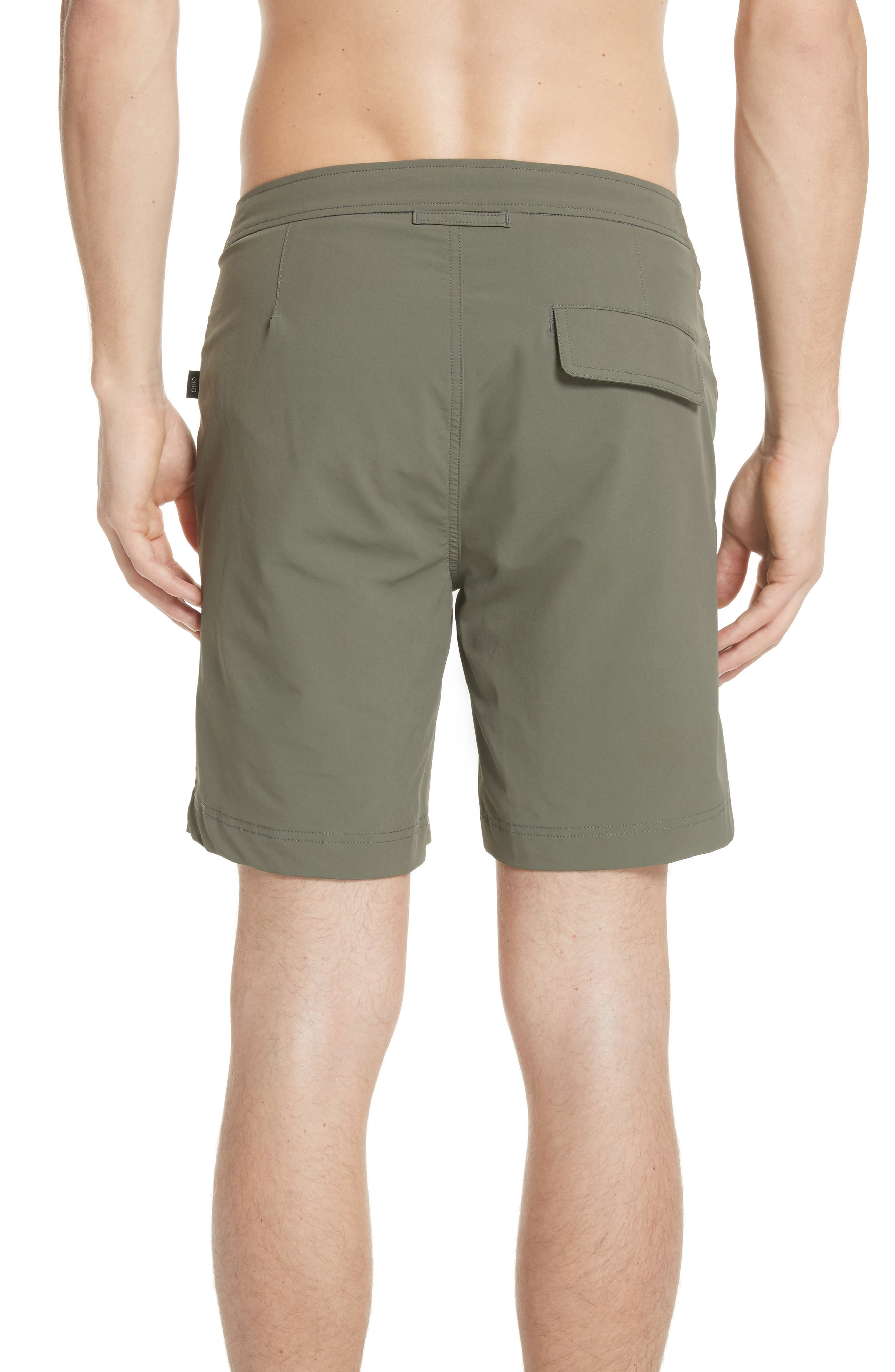 Calder Swim Trunks,                             Alternate thumbnail 2, color,                             DEEP SAGE